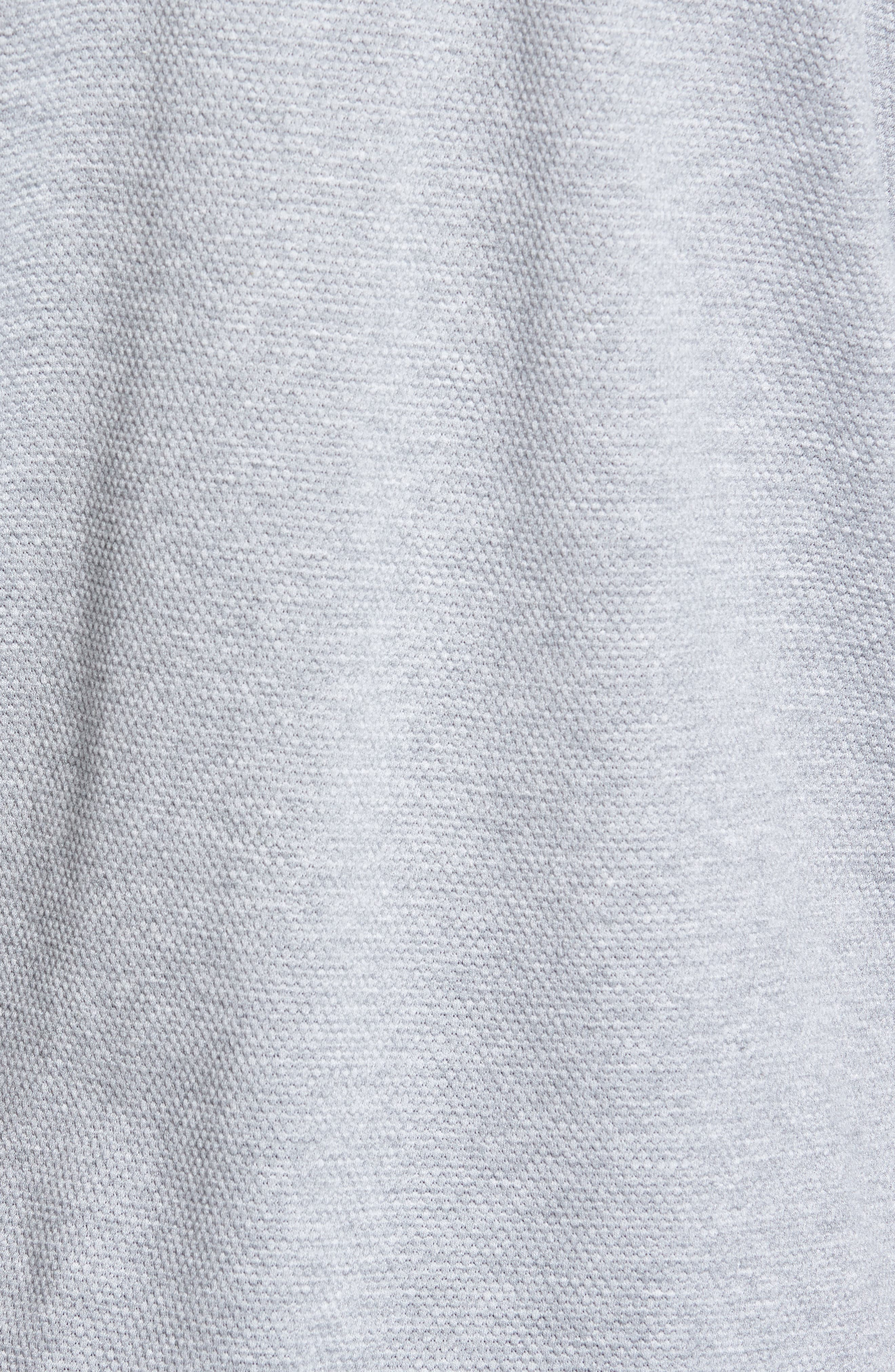 Scooby Trim Fit Long Sleeve Polo Shirt,                             Alternate thumbnail 5, color,                             Grey Marl