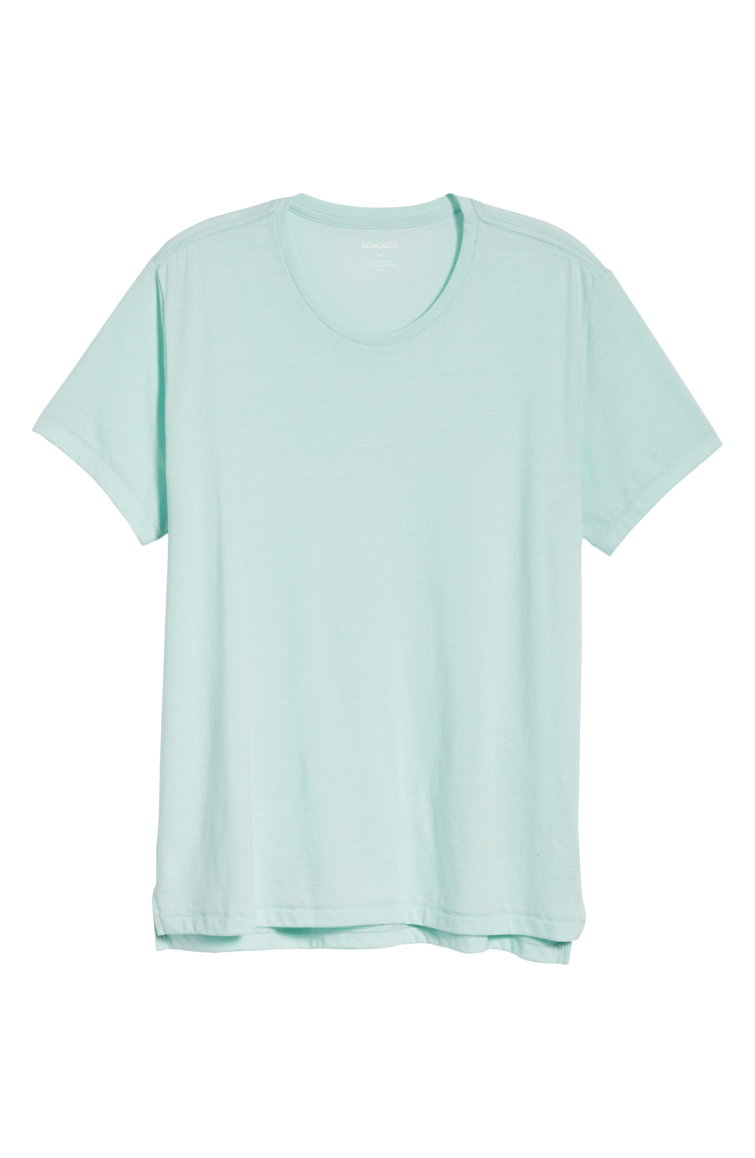 LA Slim Fit Heathered T-Shirt,                             Alternate thumbnail 6, color,                             Heather Mint