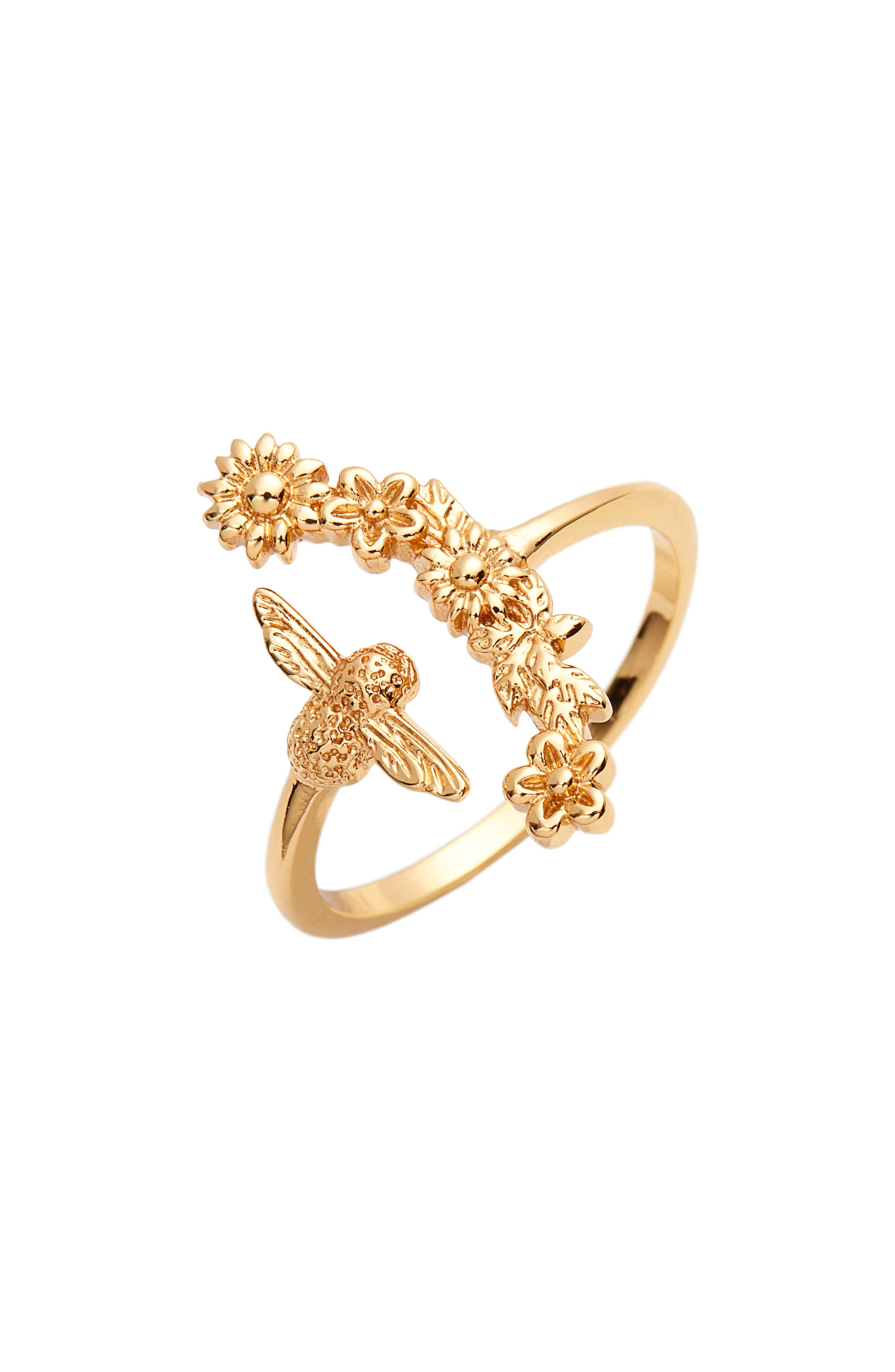 Olivia Burton Bee Blooms Ring