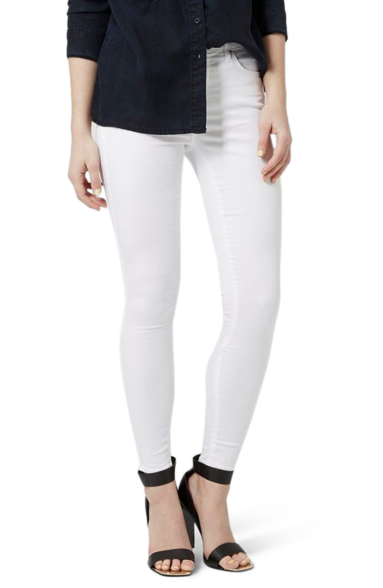 Alternate Image 1 Selected - Topshop Leigh Jeans