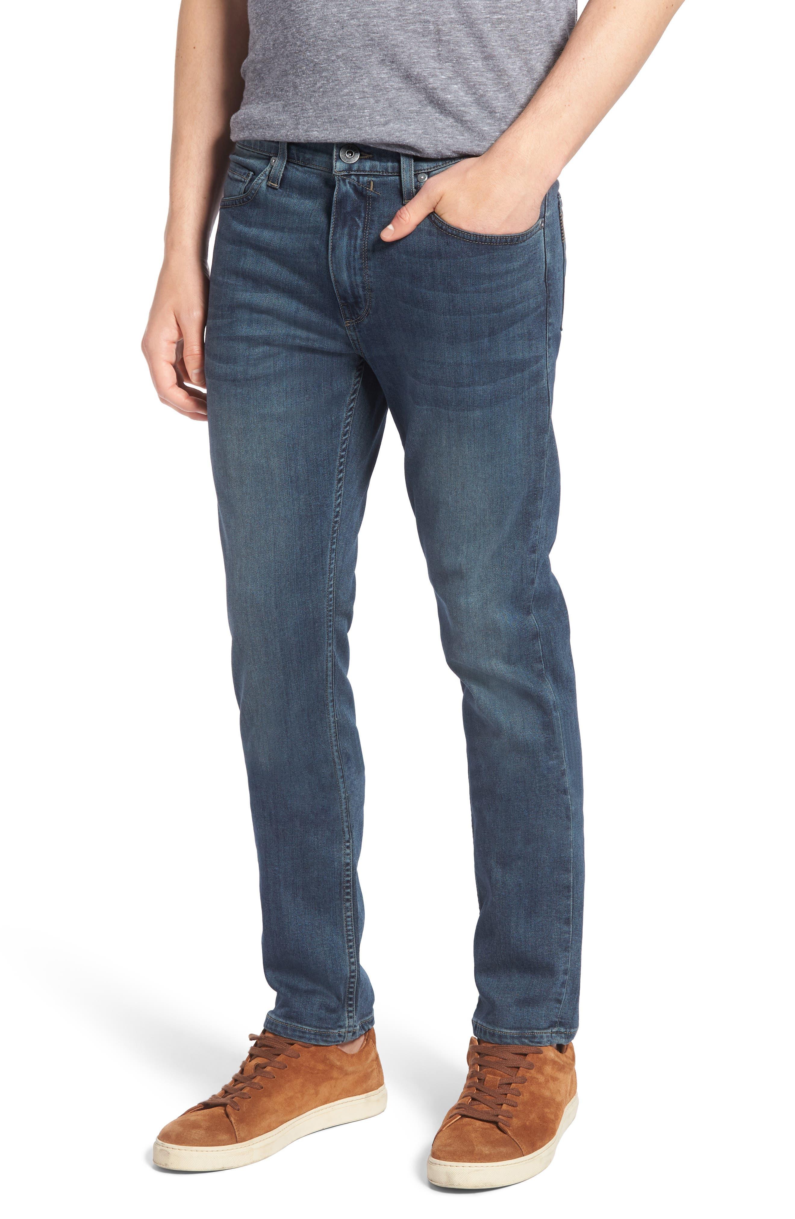 PAIGE Transcend - Lennox Slim Fit Jeans (Daniels)