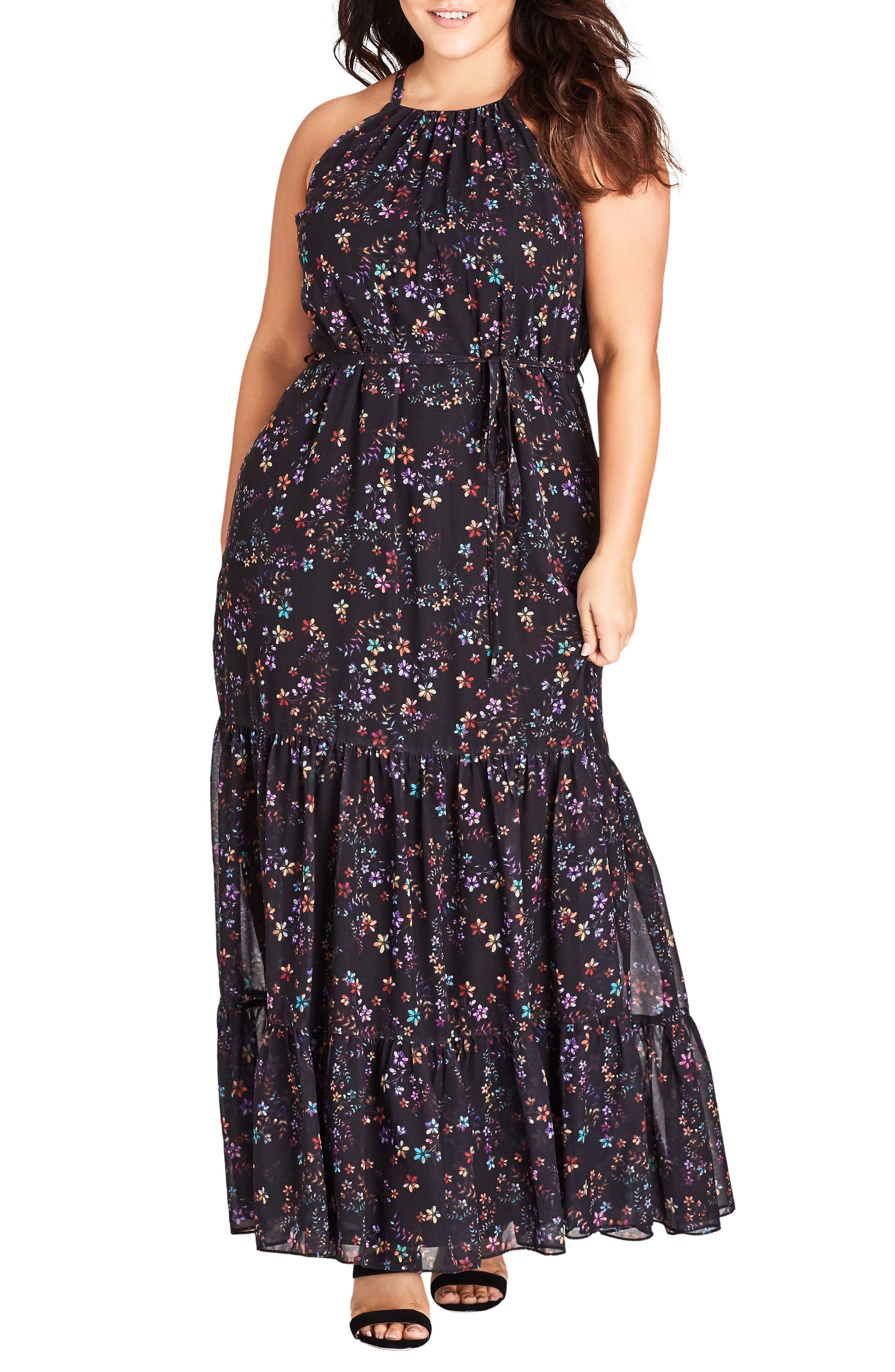 Sweet Dreams Maxi Dress,                             Main thumbnail 1, color,                             Dreamy Floral