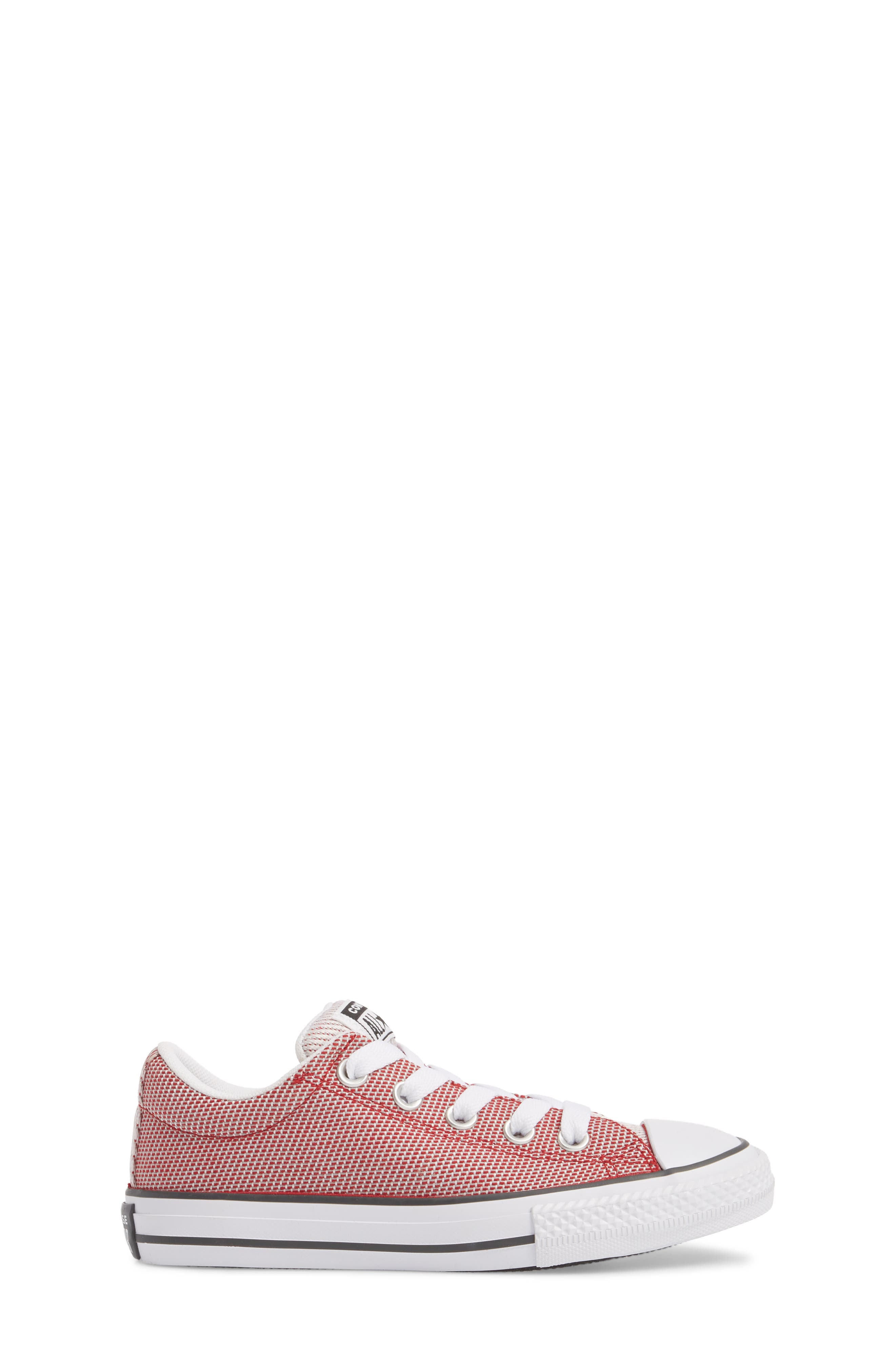 Chuck Taylor<sup>®</sup> All Star<sup>®</sup> Woven Street Sneaker,                             Alternate thumbnail 3, color,                             Gym Red