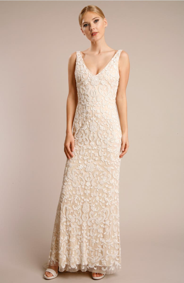 K'Mich Weddings - wedding planning - affordable wedding dresses -Beaded Lace Gown LOTUS THREADS - Nordstrom