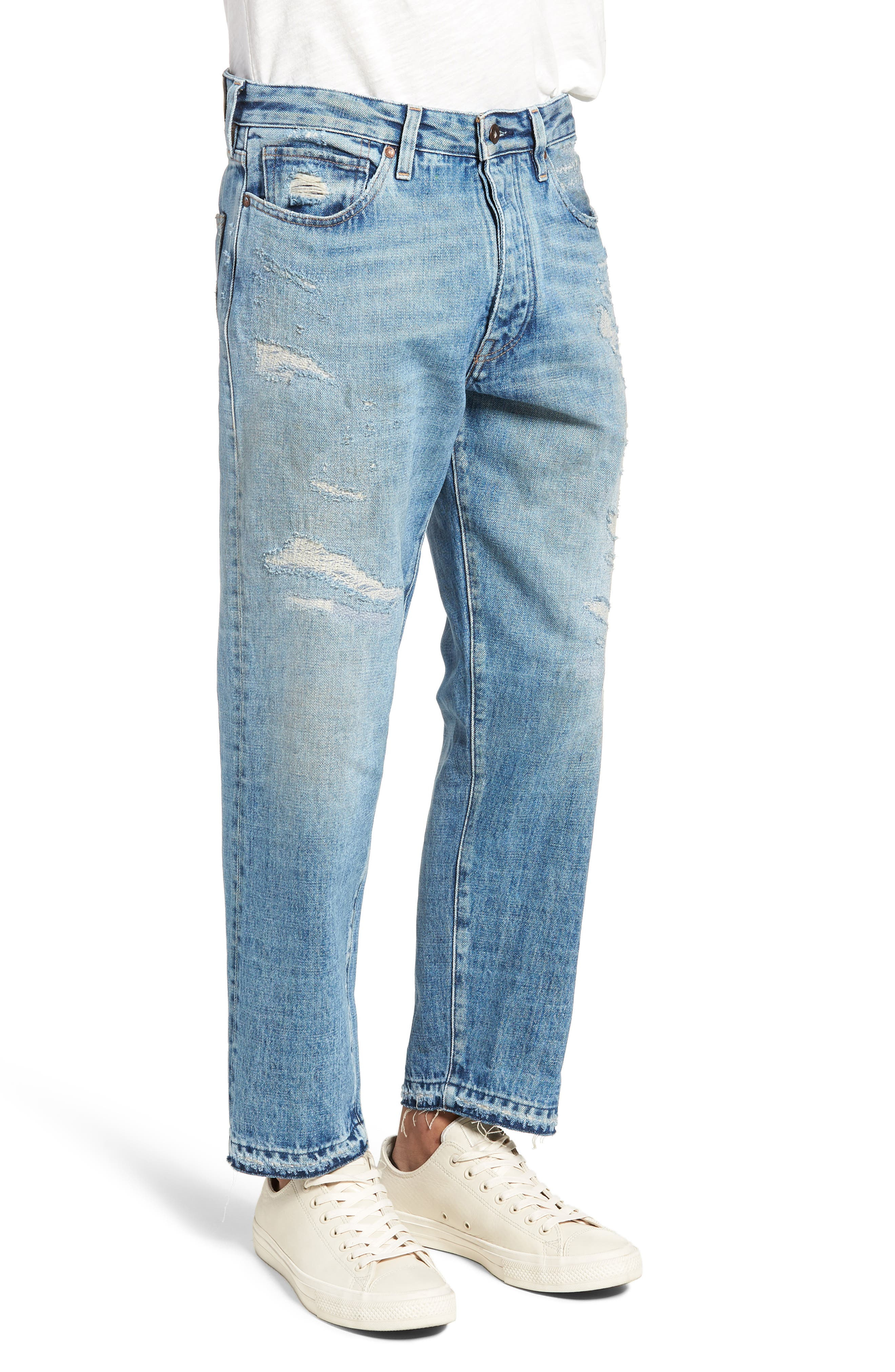 Draft Taper Standard Fit Jeans,                             Alternate thumbnail 3, color,                             Banzai Pipeline