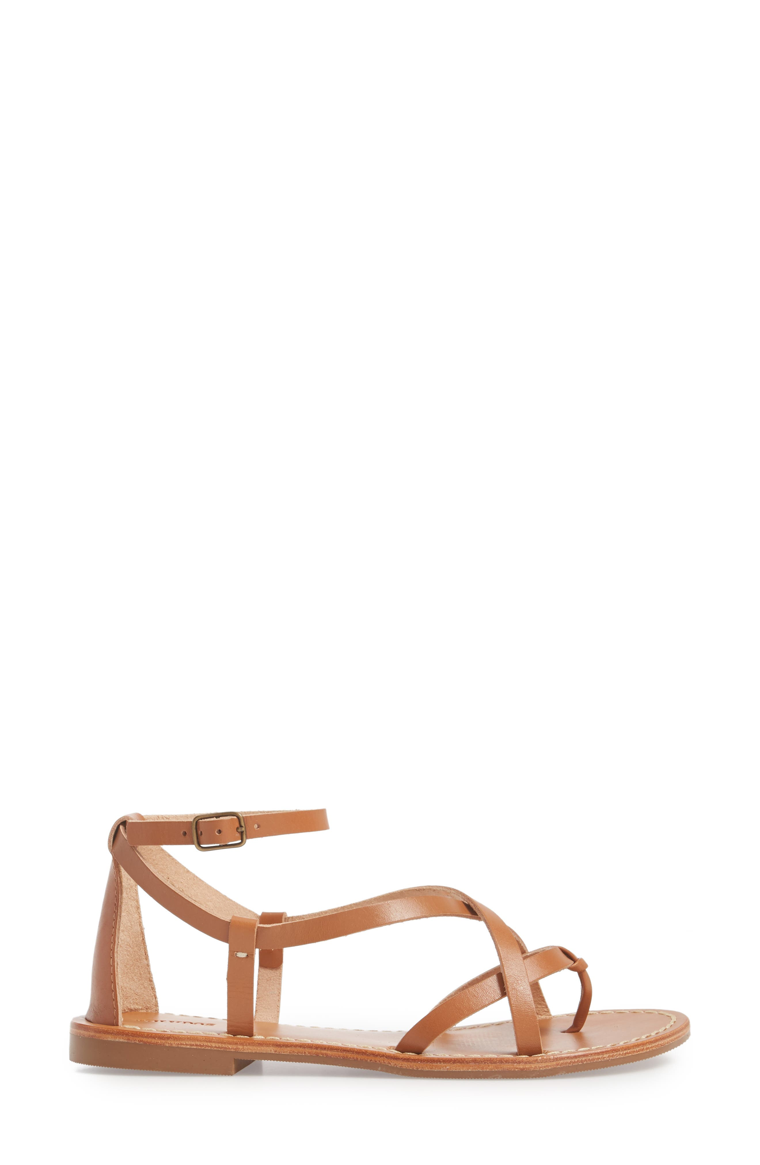 Strappy Sandal,                             Alternate thumbnail 3, color,                             Nude