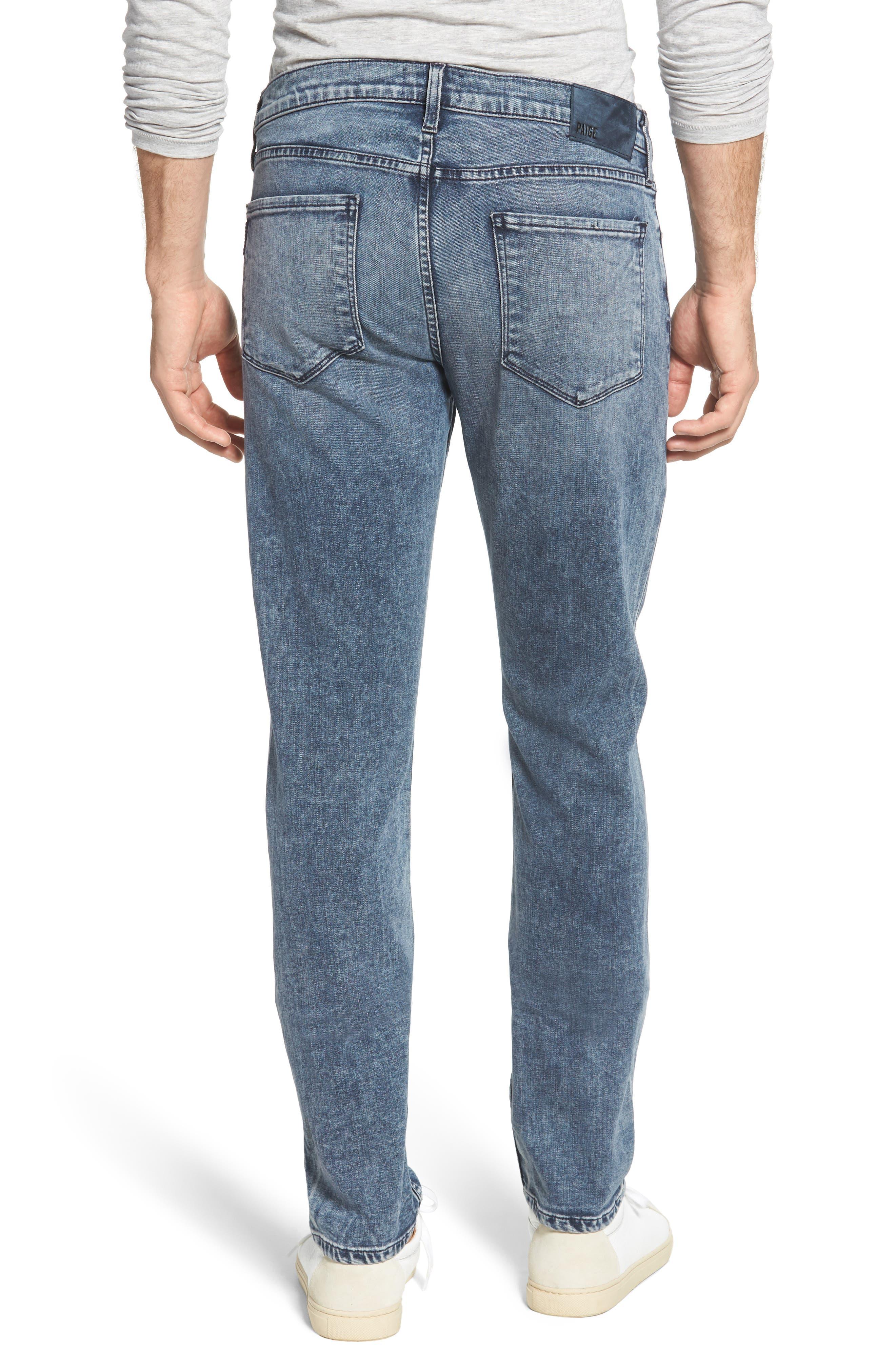 Transcend - Lennox Slim Fit Jeans,                             Alternate thumbnail 2, color,                             Higgs