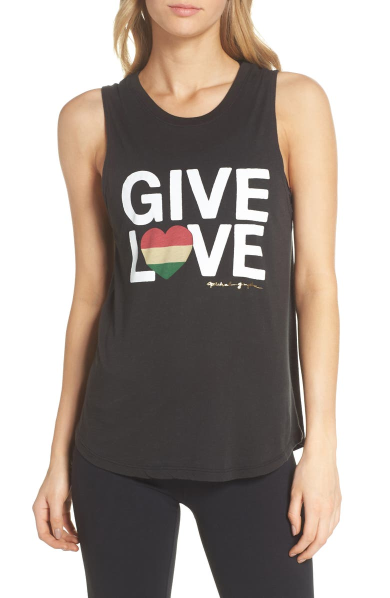 Give Love Muscle Tee