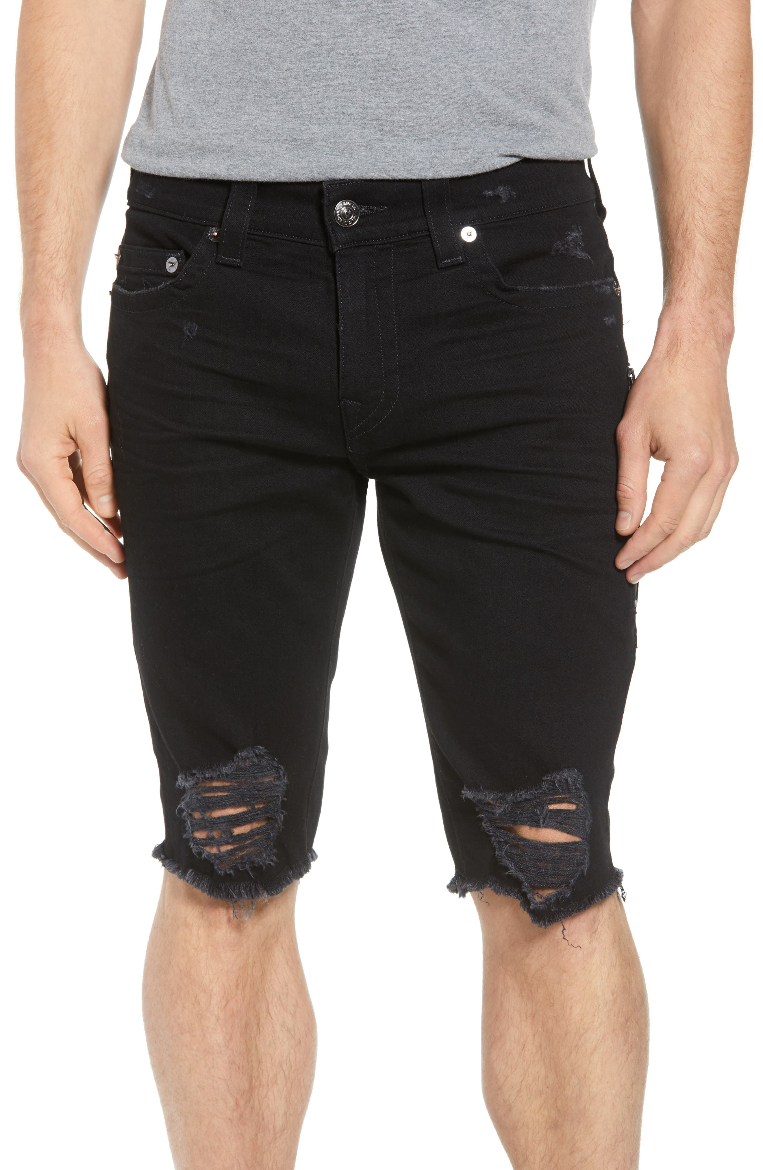 Ricky Relaxed Fit Shorts,                         Main,                         color, Chalkboard