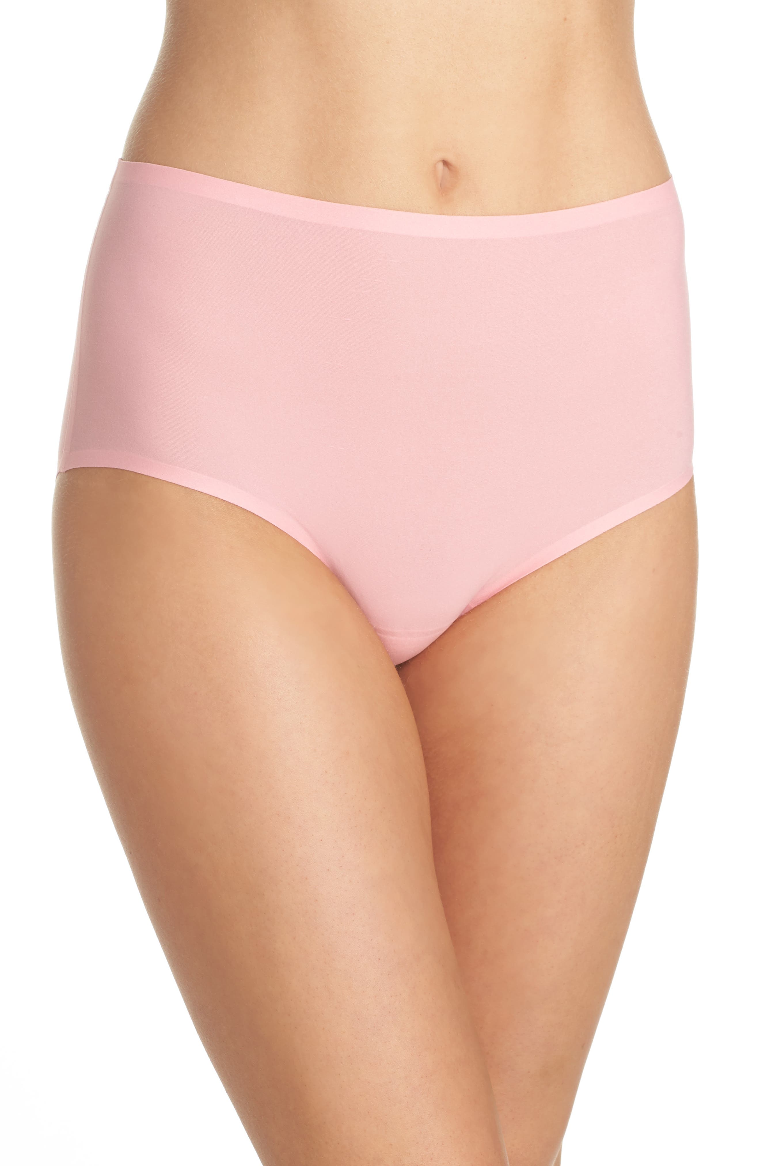Main Image - Chantelle Intimates Soft Stretch High Waist Seamless Briefs (3 for $45)