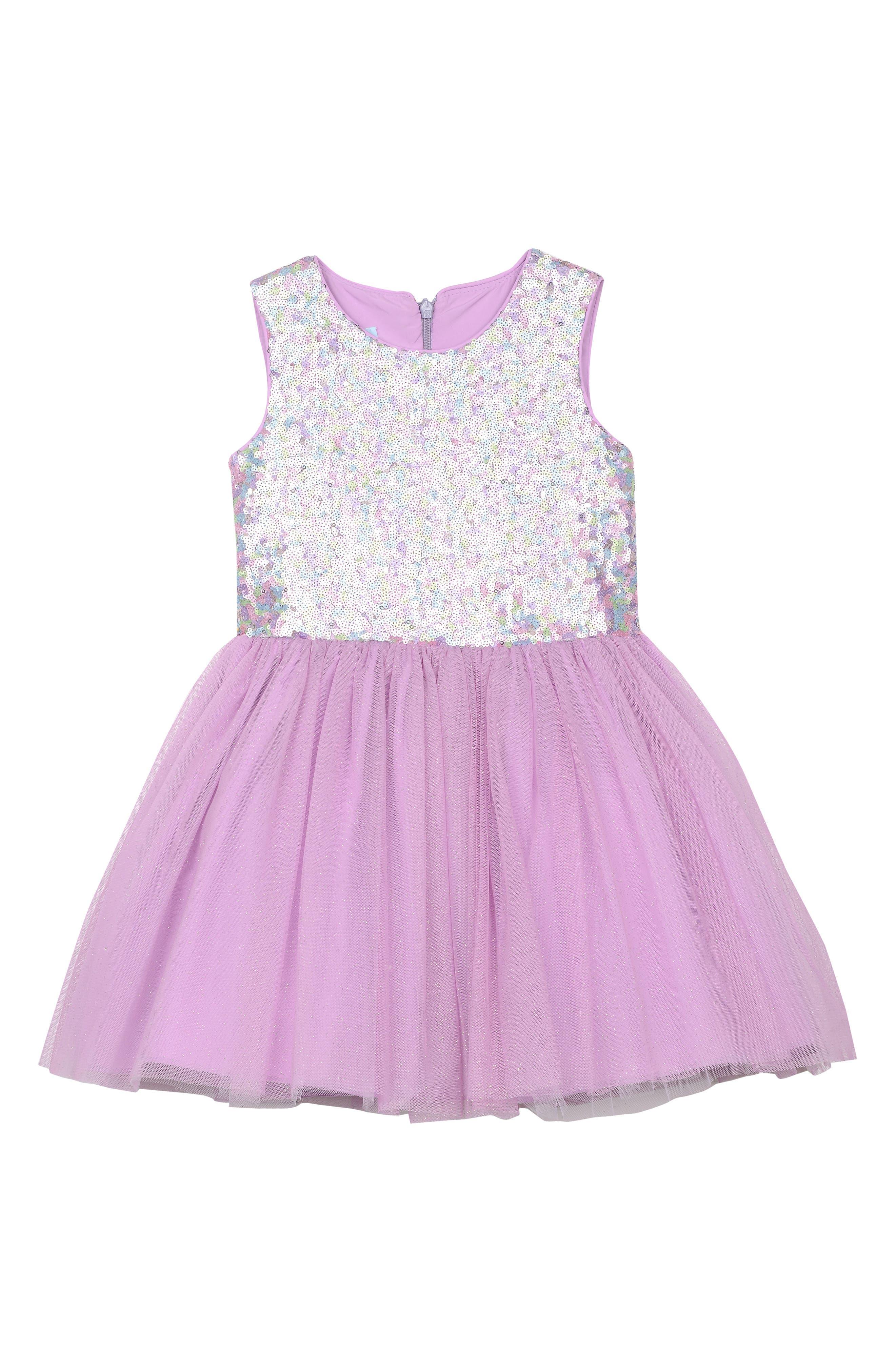 Pippa & Julie Sequin & Tulle Dress (Baby Girls)