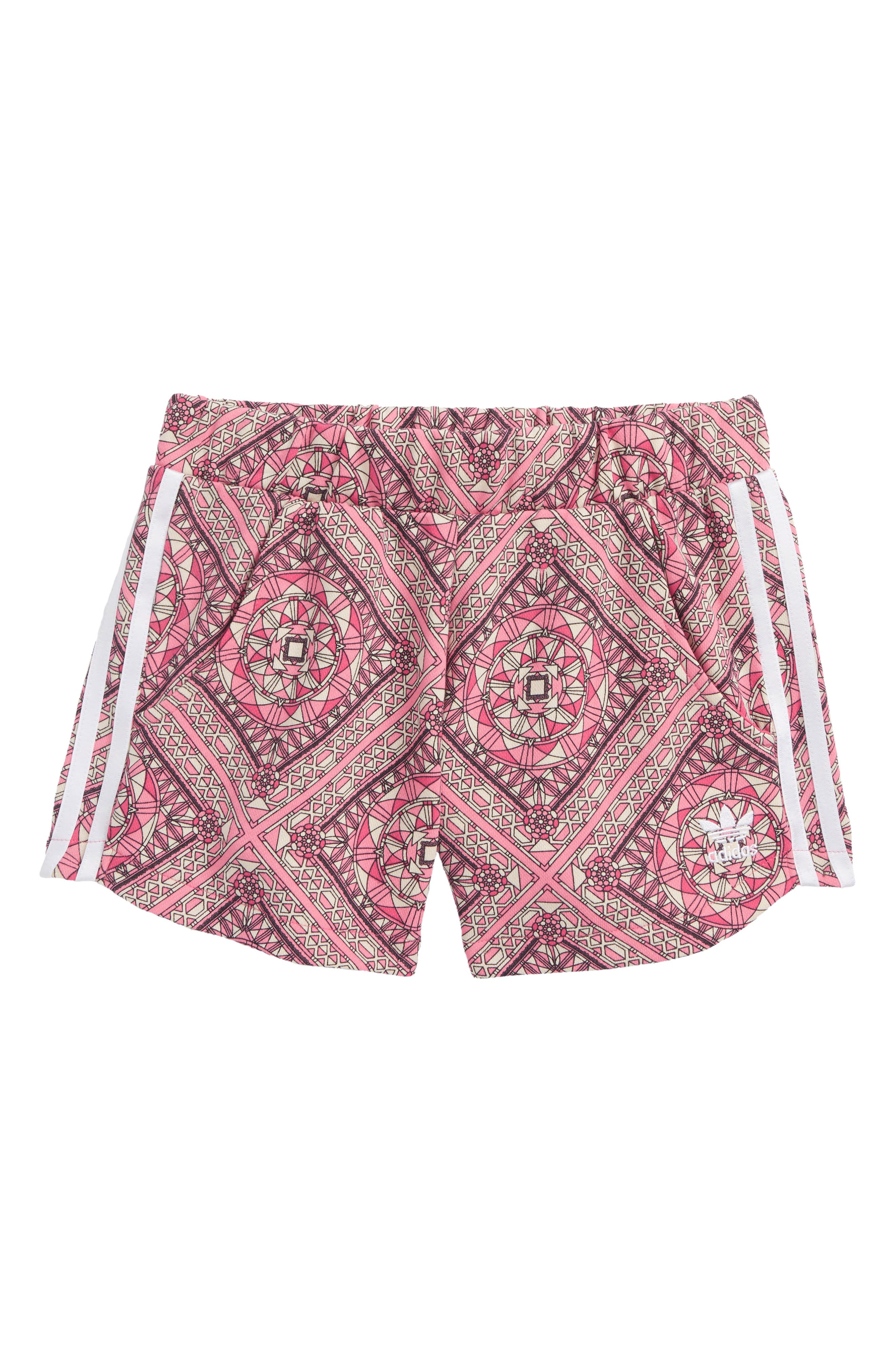 Graphic Shorts,                         Main,                         color, Multicolor / White
