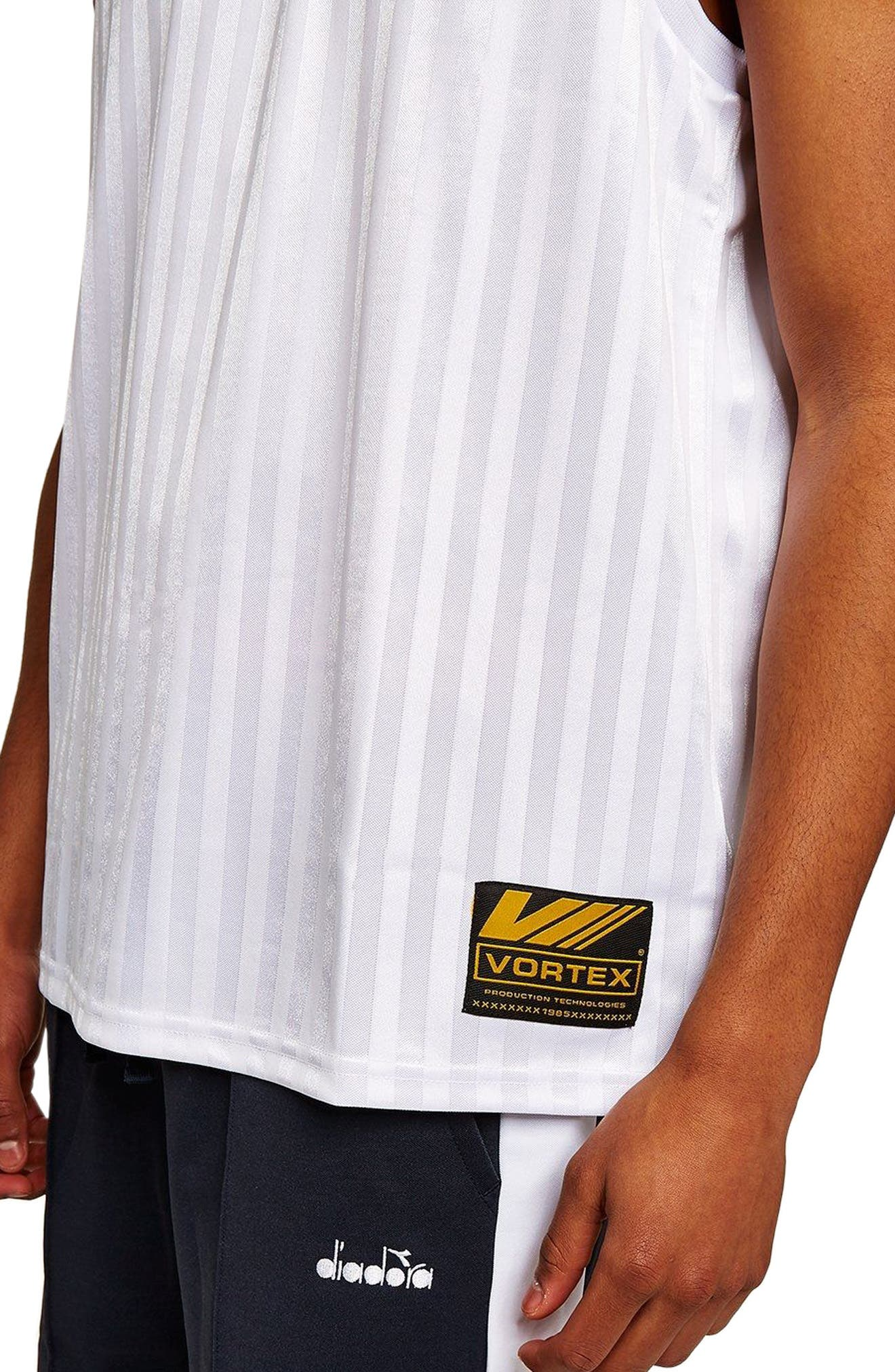 Sports Logo Tank,                             Alternate thumbnail 4, color,                             White