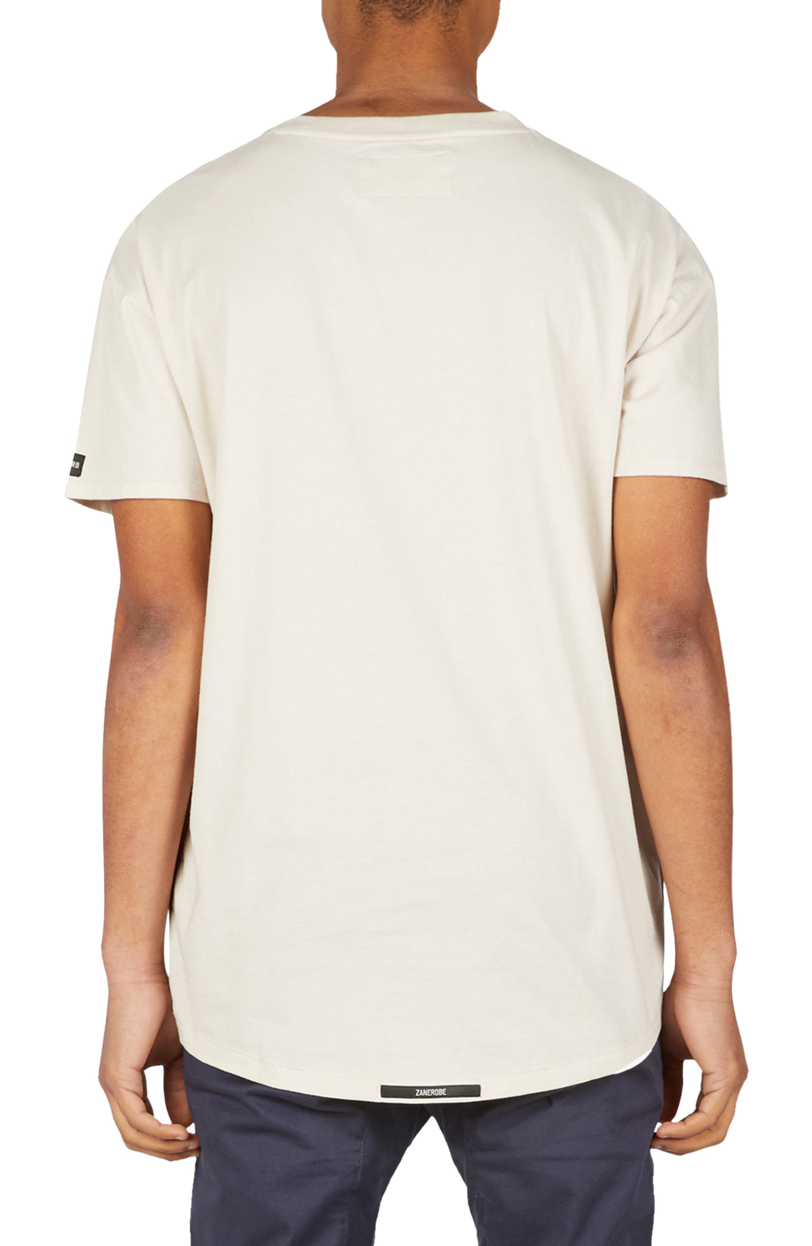Sideline Rugger T-Shirt,                             Alternate thumbnail 2, color,                             Natural