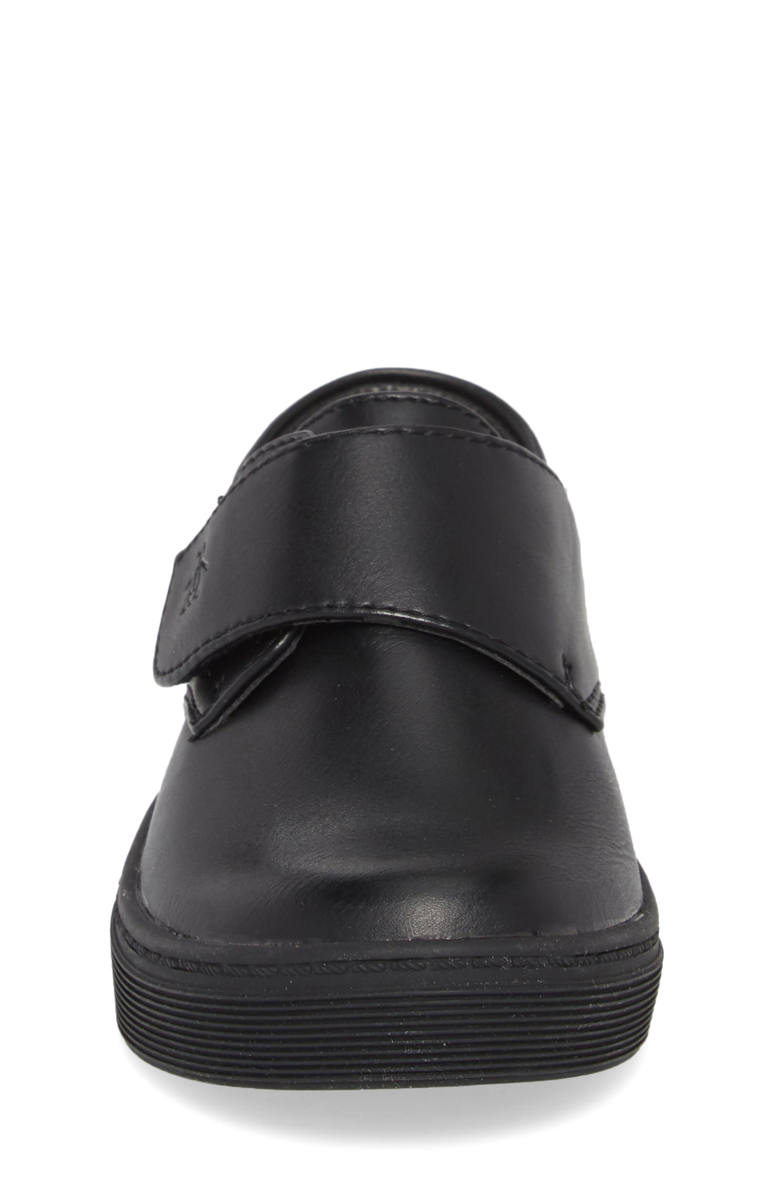 Felton Sneaker,                             Alternate thumbnail 4, color,                             Black/ Black