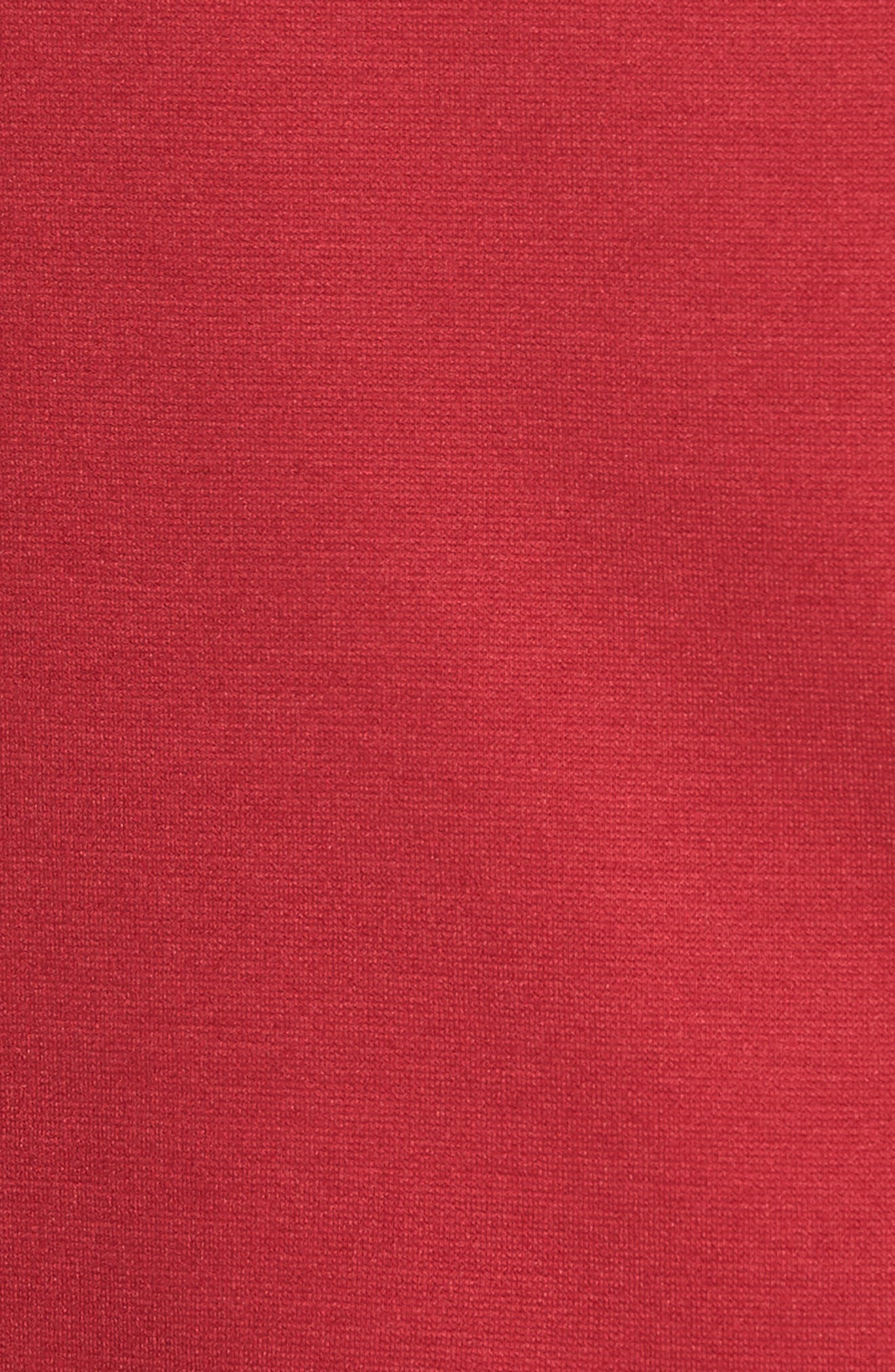 Scallop Edge Sleeveless Top,                             Alternate thumbnail 6, color,                             Red