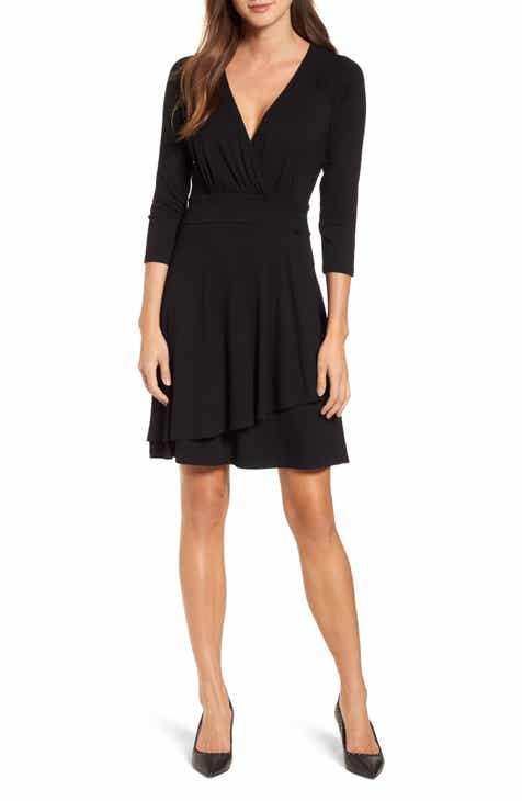 a81faa8704e Karen Kane Wrap Style Drape Front Dress