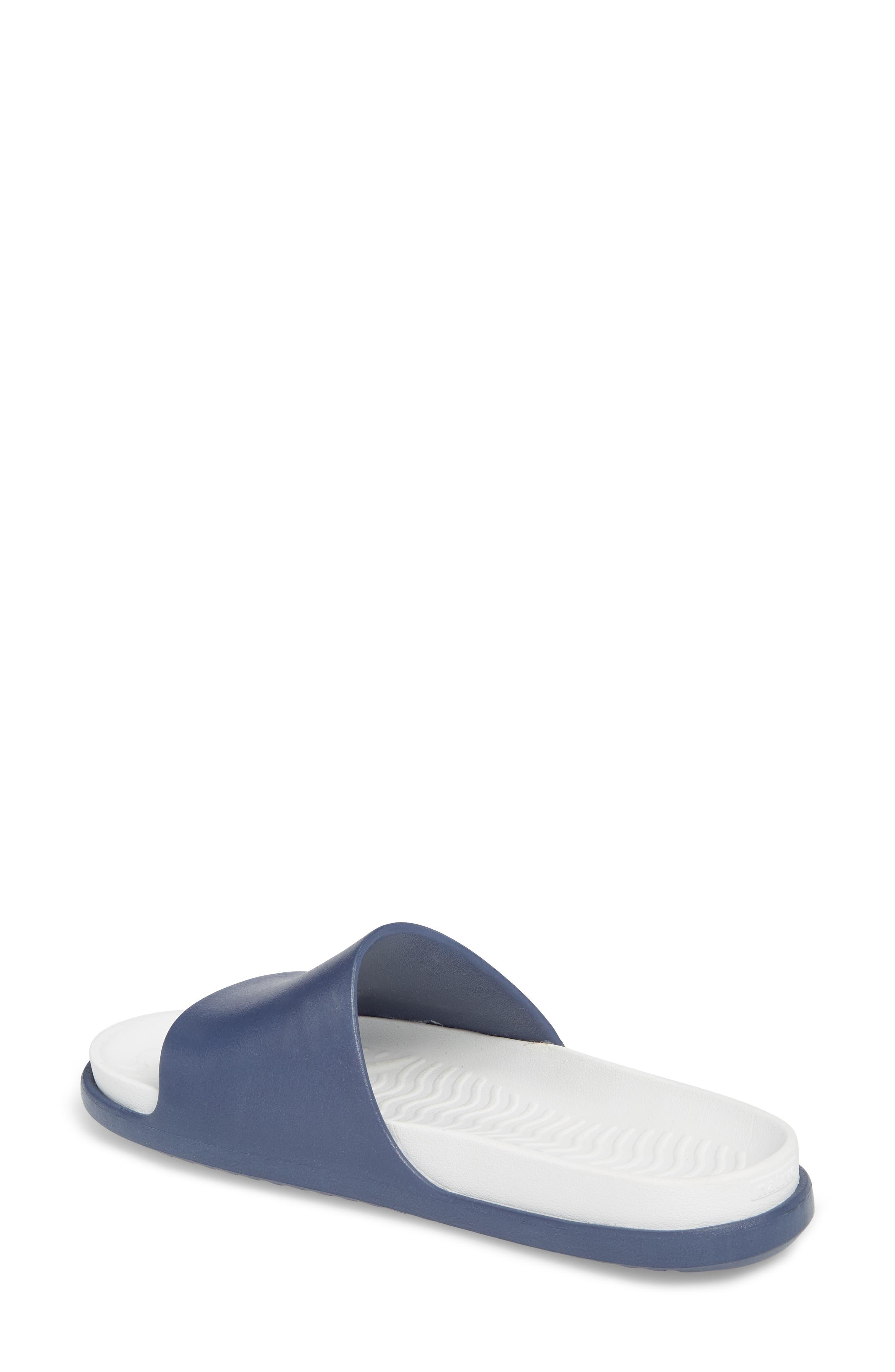 Spencer LX Sport Slide,                             Alternate thumbnail 2, color,                             Regatta Blue/ Shell White