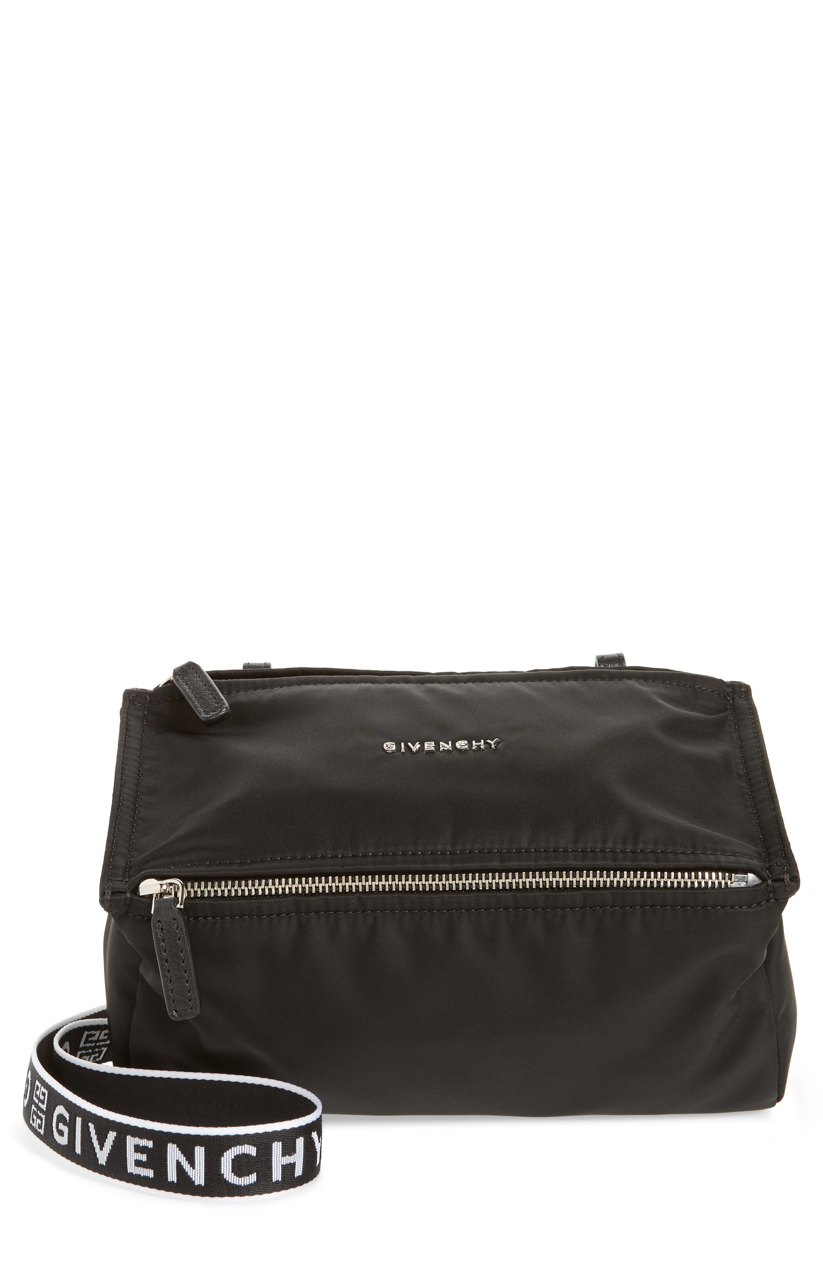 Givenchy Mini Pandora Nylon Shoulder Bag