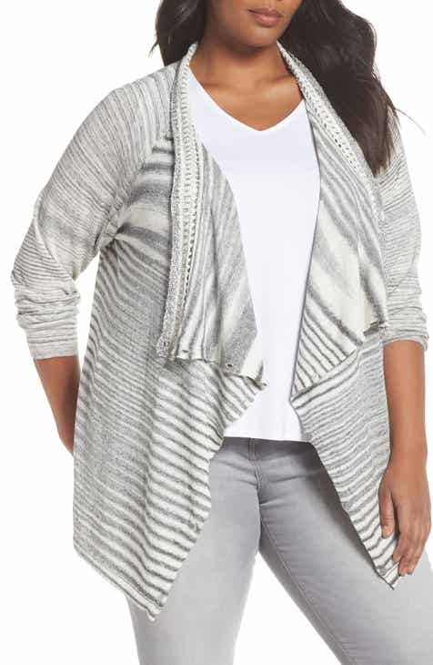 NIC+ZOE Time Change Cardigan (Plus Size)