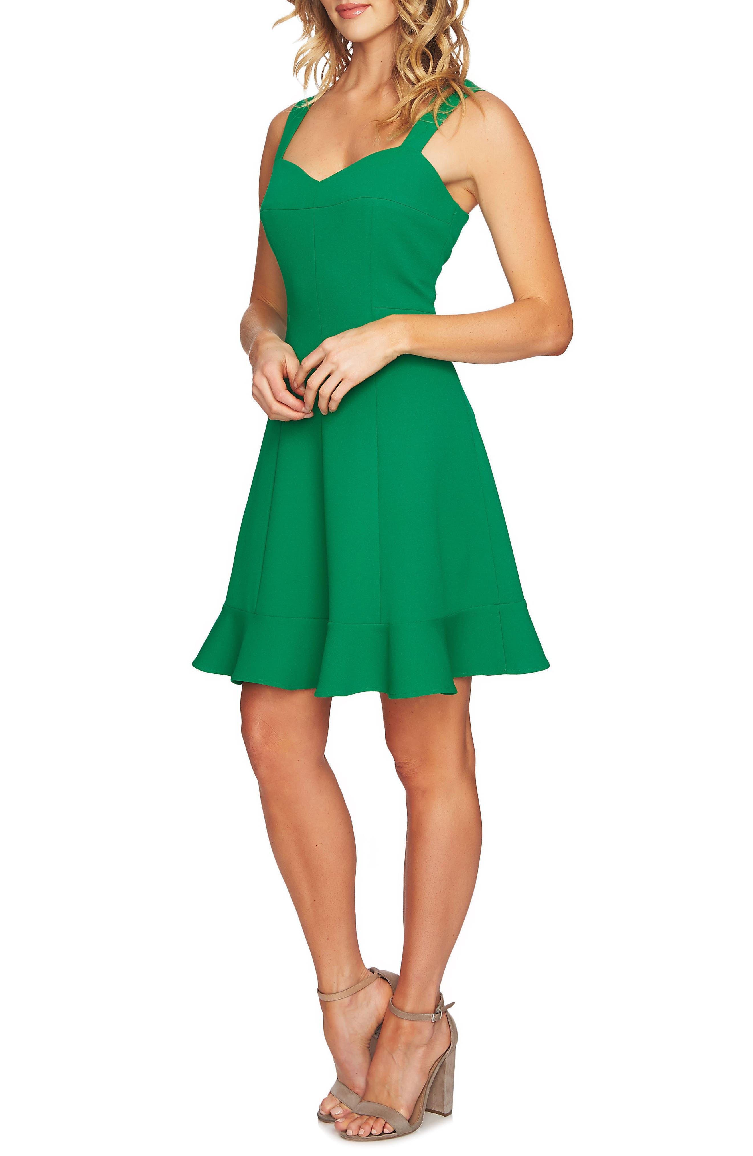 CeCe Sweetheart Knit Dress