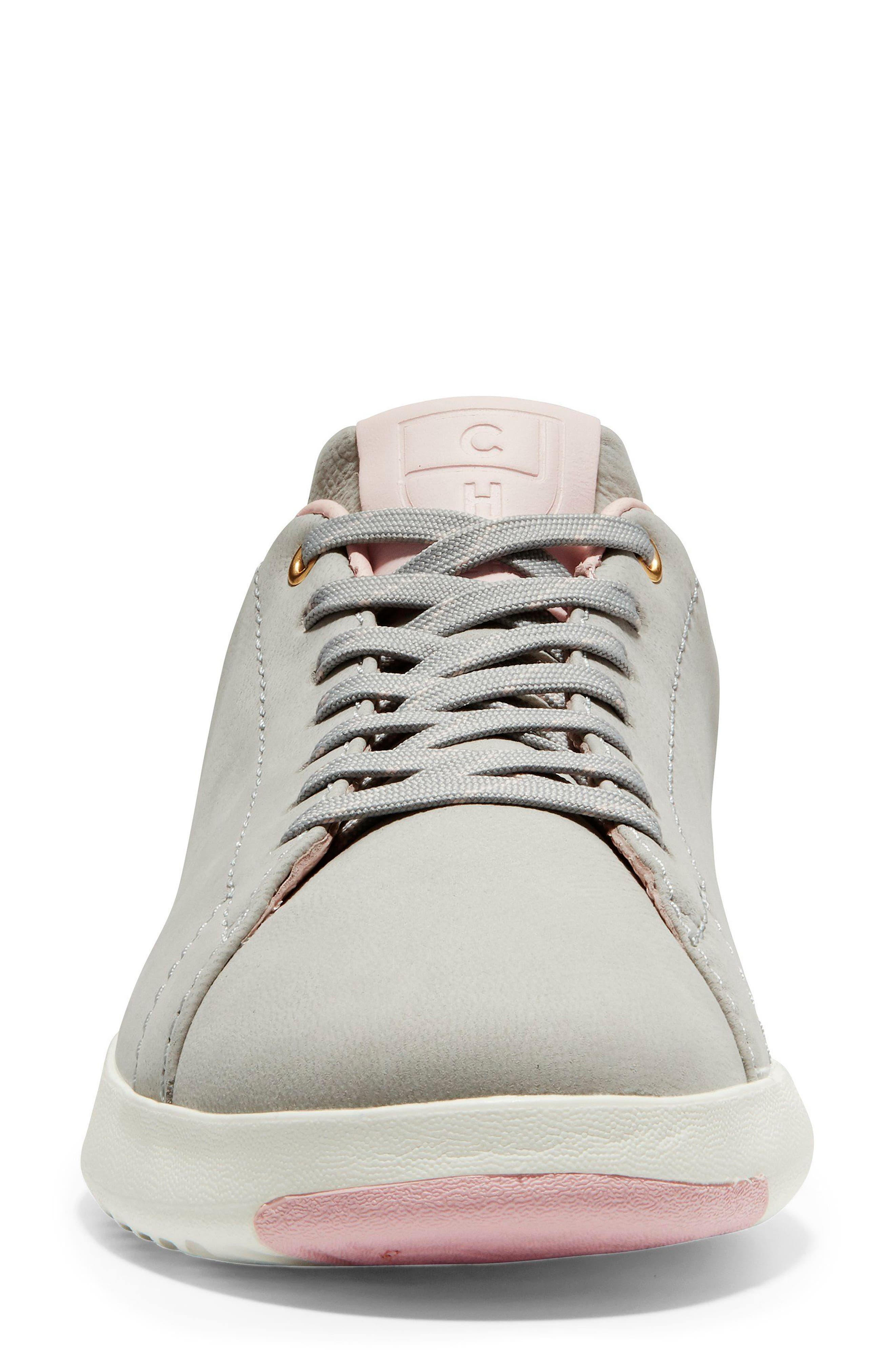 GrandPro Tennis Shoe,                             Alternate thumbnail 8, color,                             Vapor Grey Nubuck