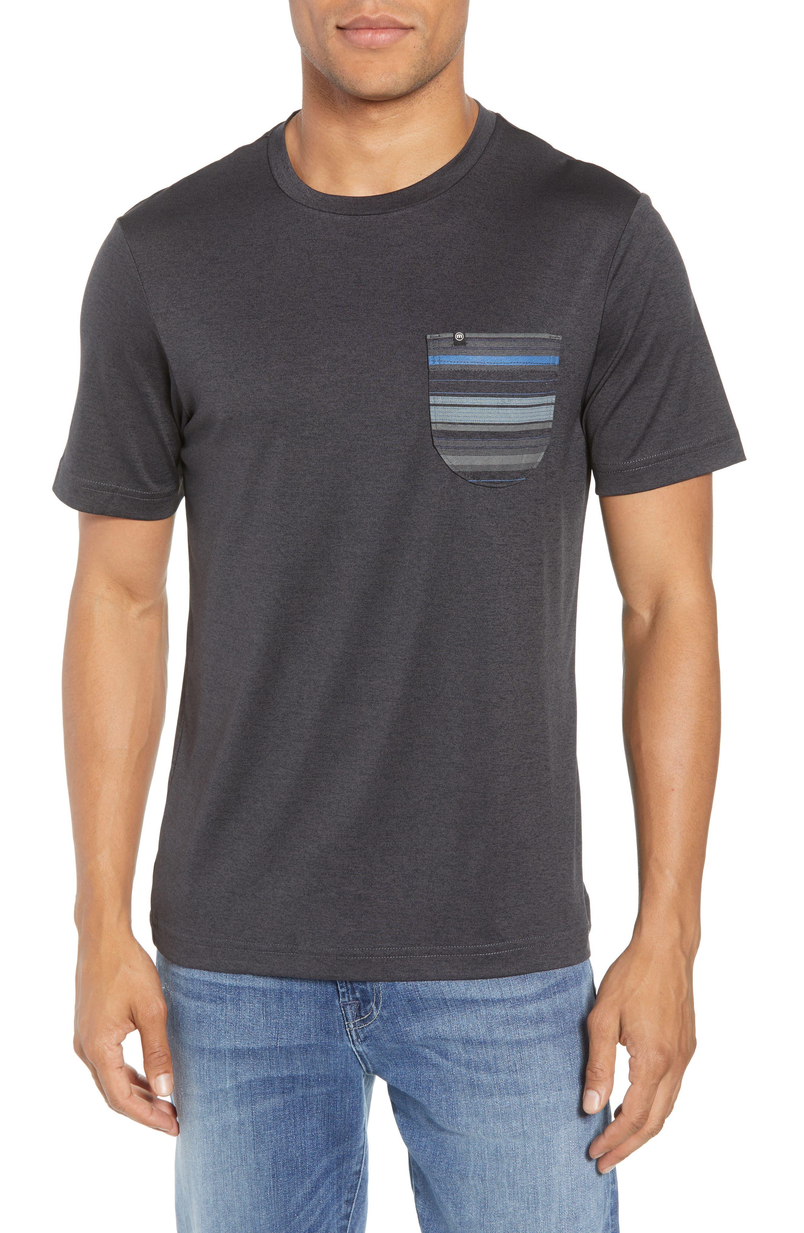 Travis Mathew Feeble Pocket Performance T-Shirt