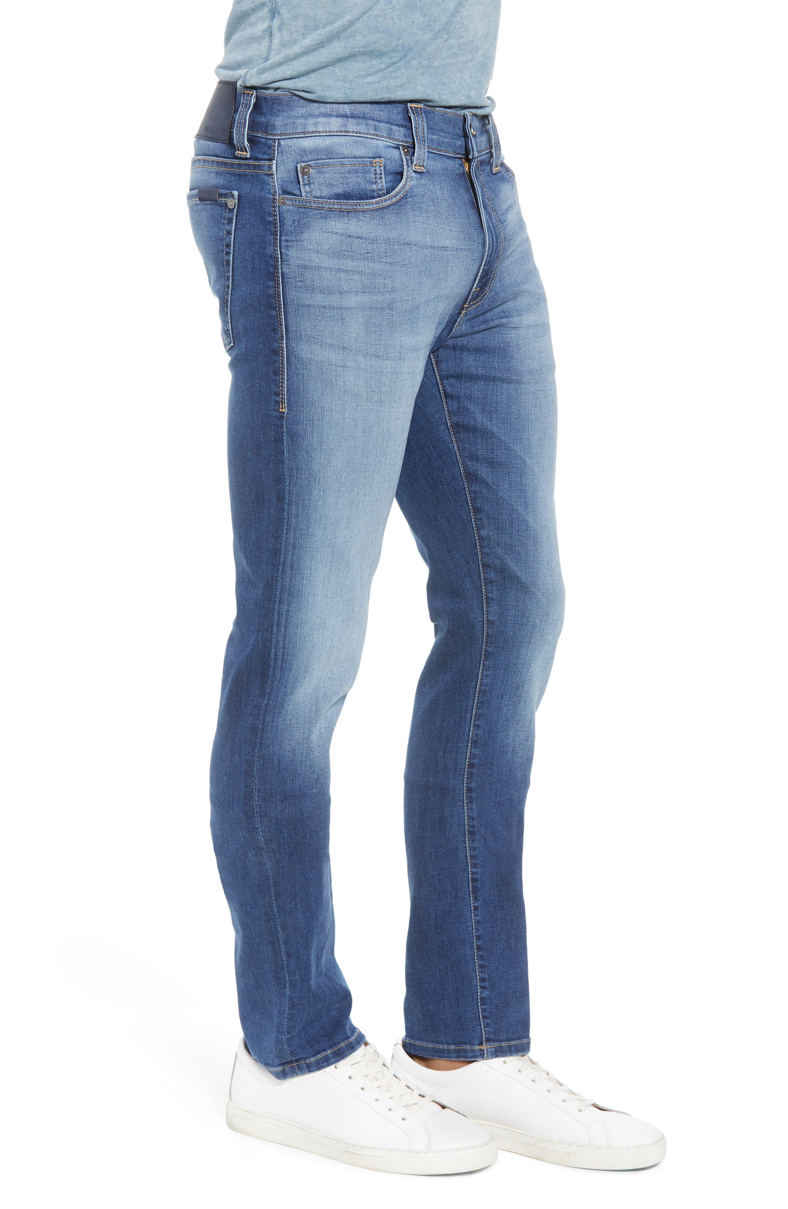 Torino Slim Fit Jeans,                             Alternate thumbnail 3, color,                             Elysium Blue