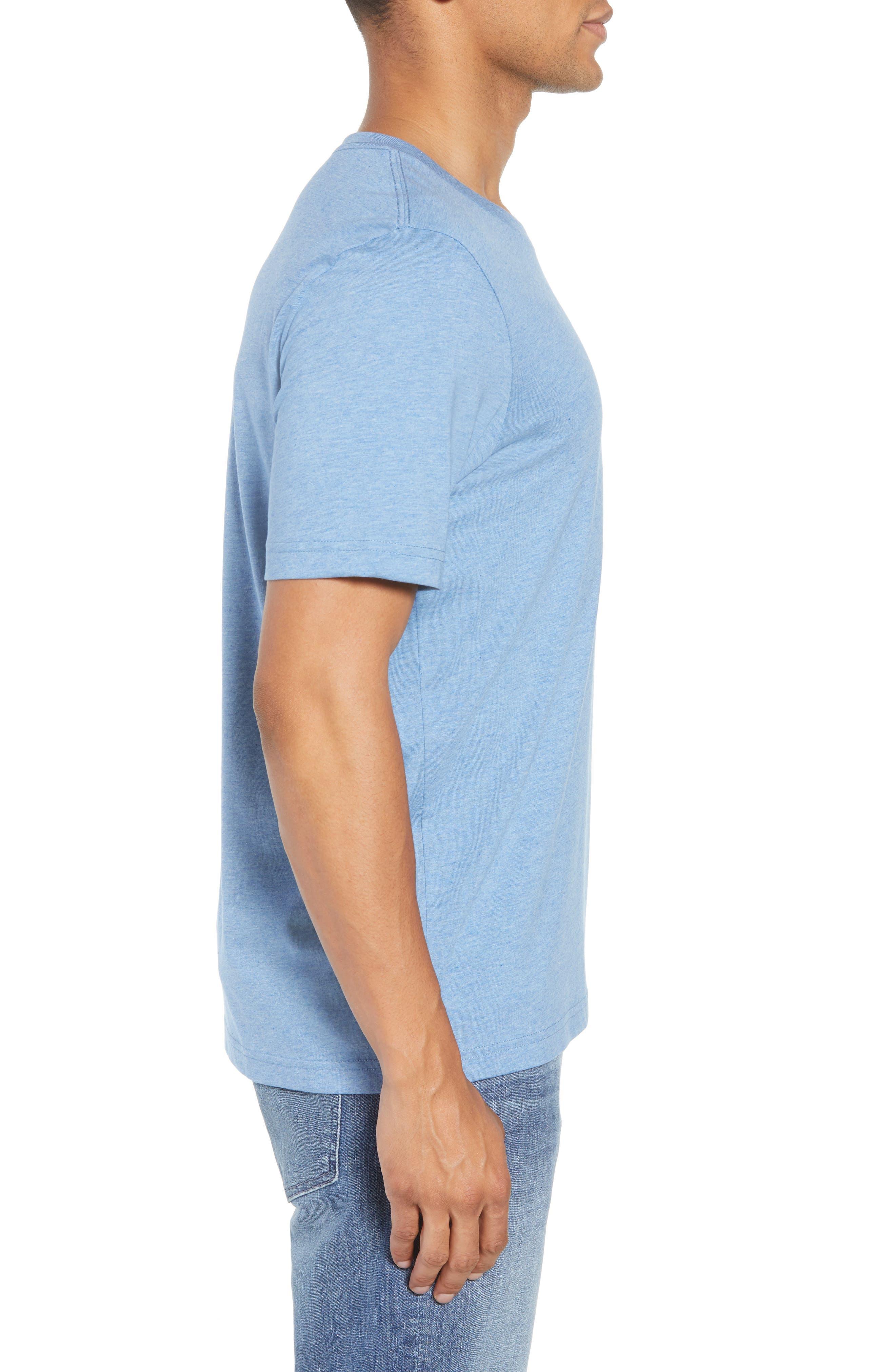 Grand Salami T-Shirt,                             Alternate thumbnail 3, color,                             Heather Blue