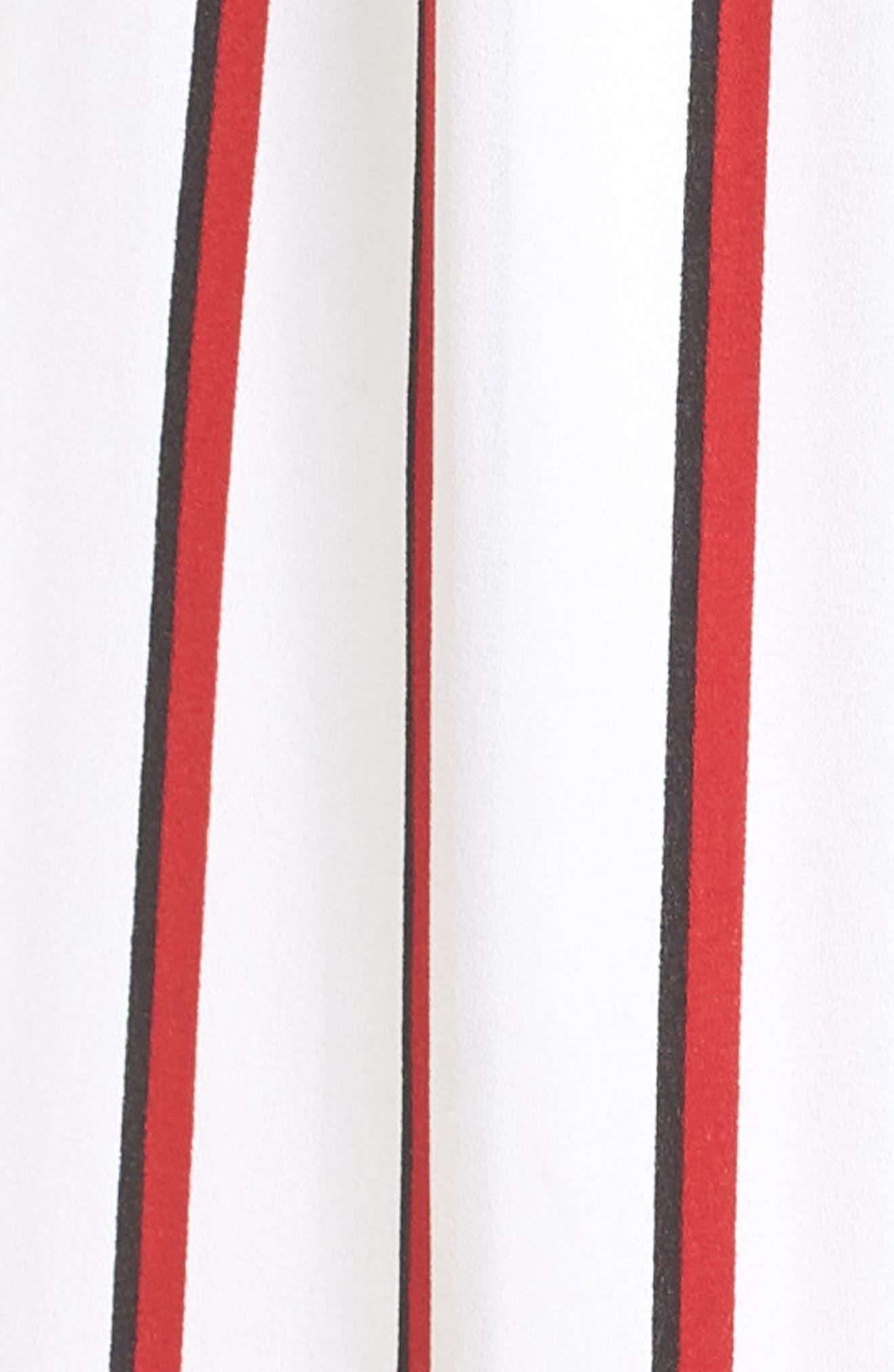 EZ Days Satin Wrap Maxi Dress,                             Alternate thumbnail 6, color,                             Chili Red