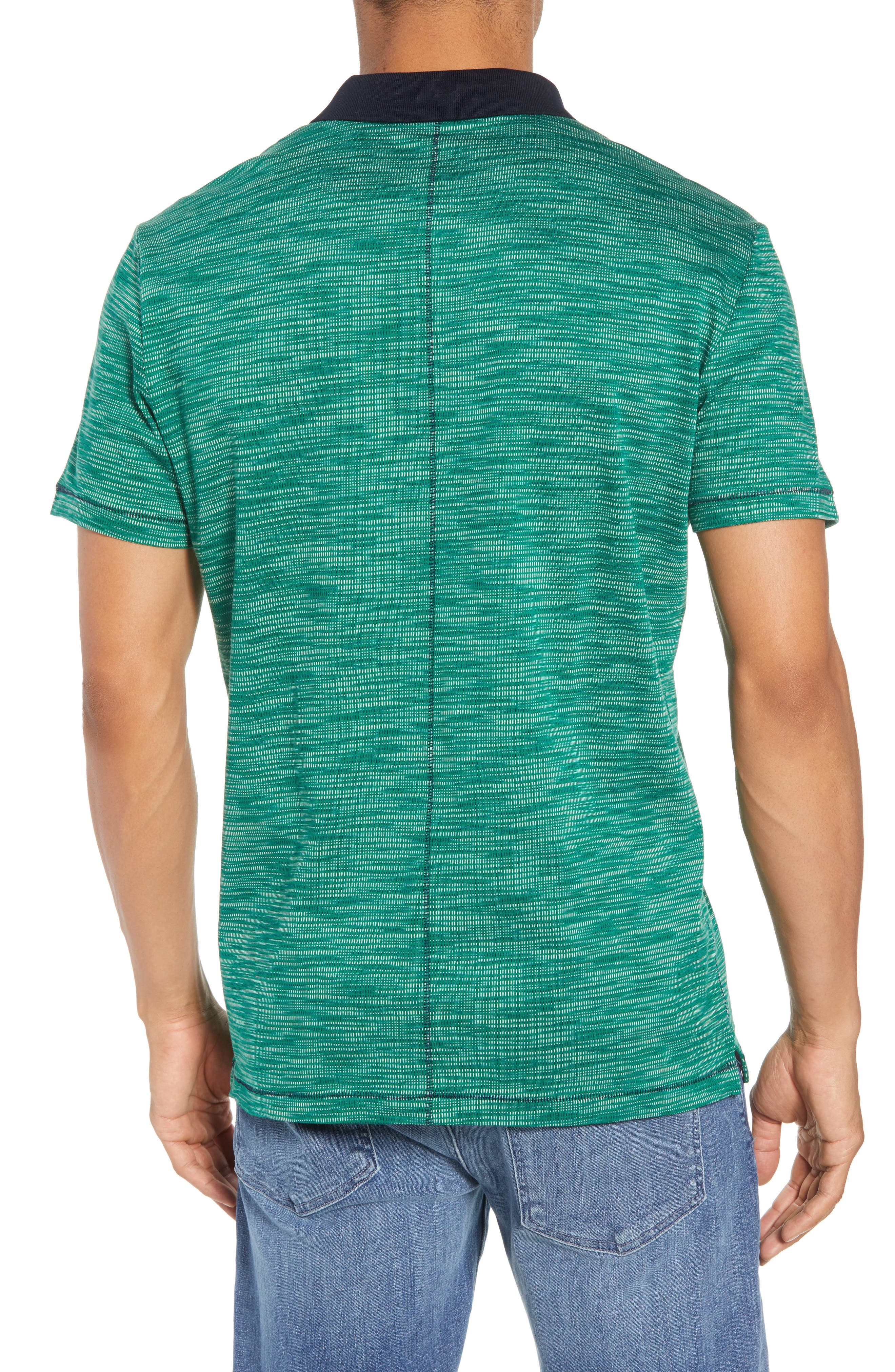 Tay Street Regular Fit Polo,                             Alternate thumbnail 2, color,                             Emerald
