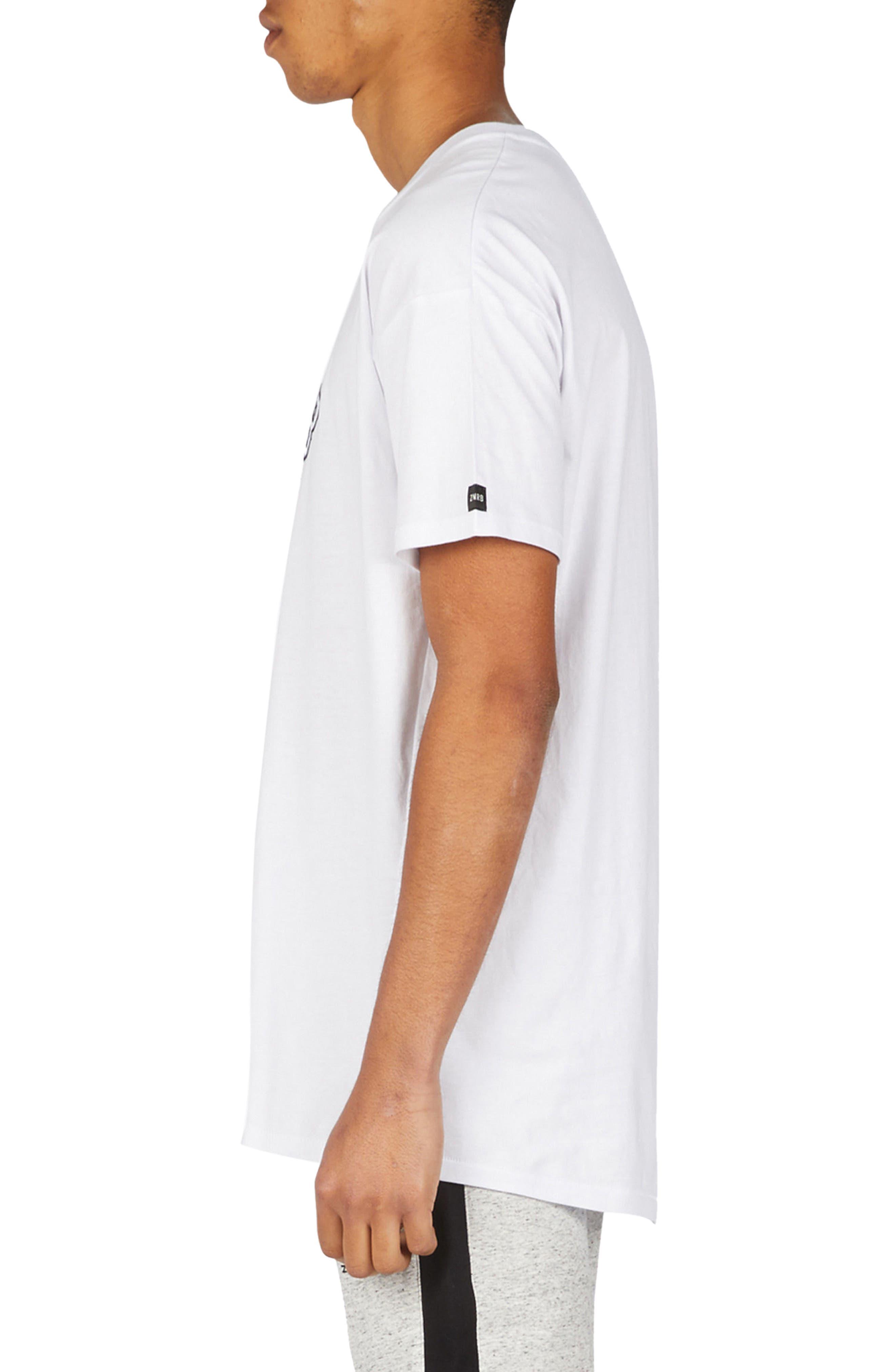 Team Rugger T-Shirt,                             Alternate thumbnail 3, color,                             White