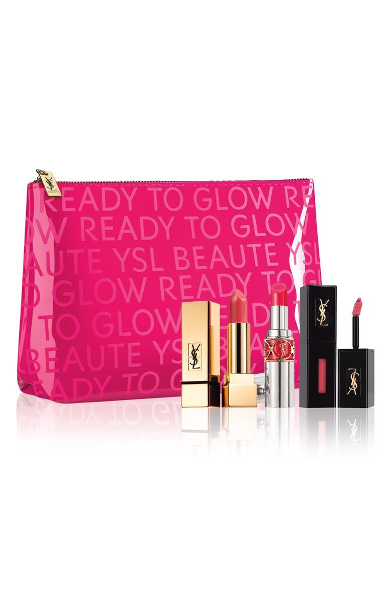 Pink Lip Set,                         Main,                         color, No Color