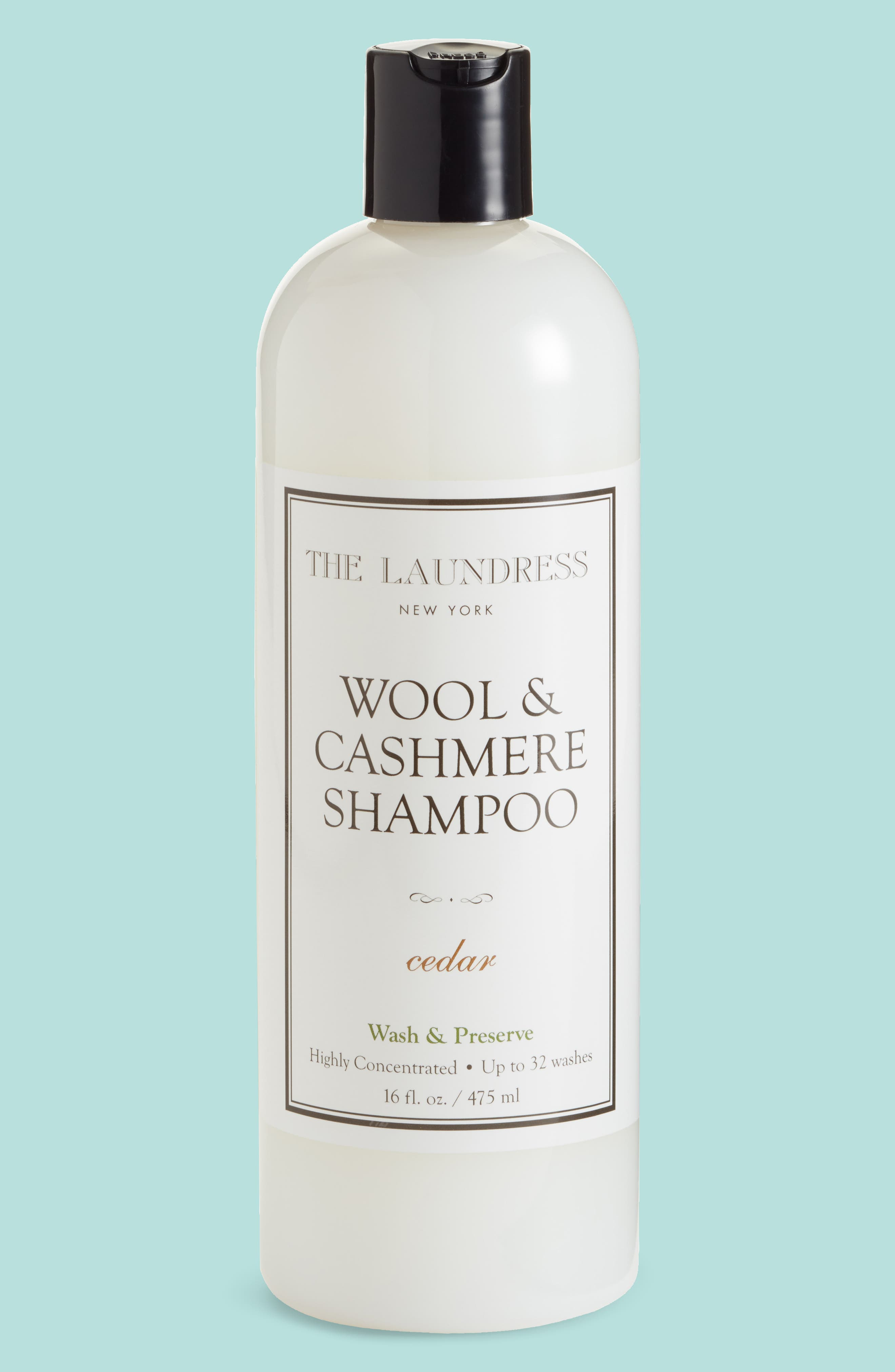 Wool & Cashmere Shampoo,                             Main thumbnail 1, color,                             Cedar