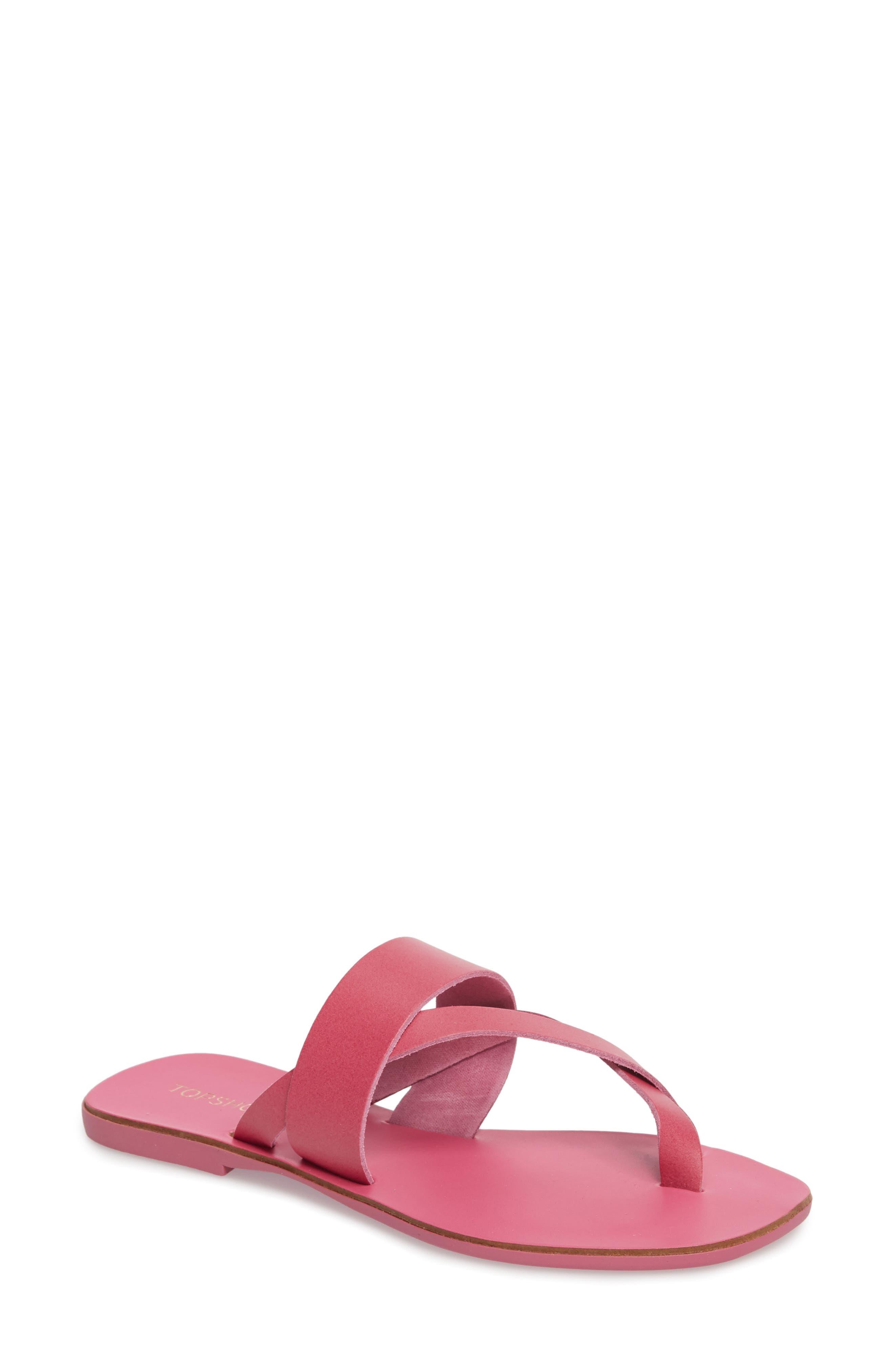 Harper Sandal,                         Main,                         color, Pink