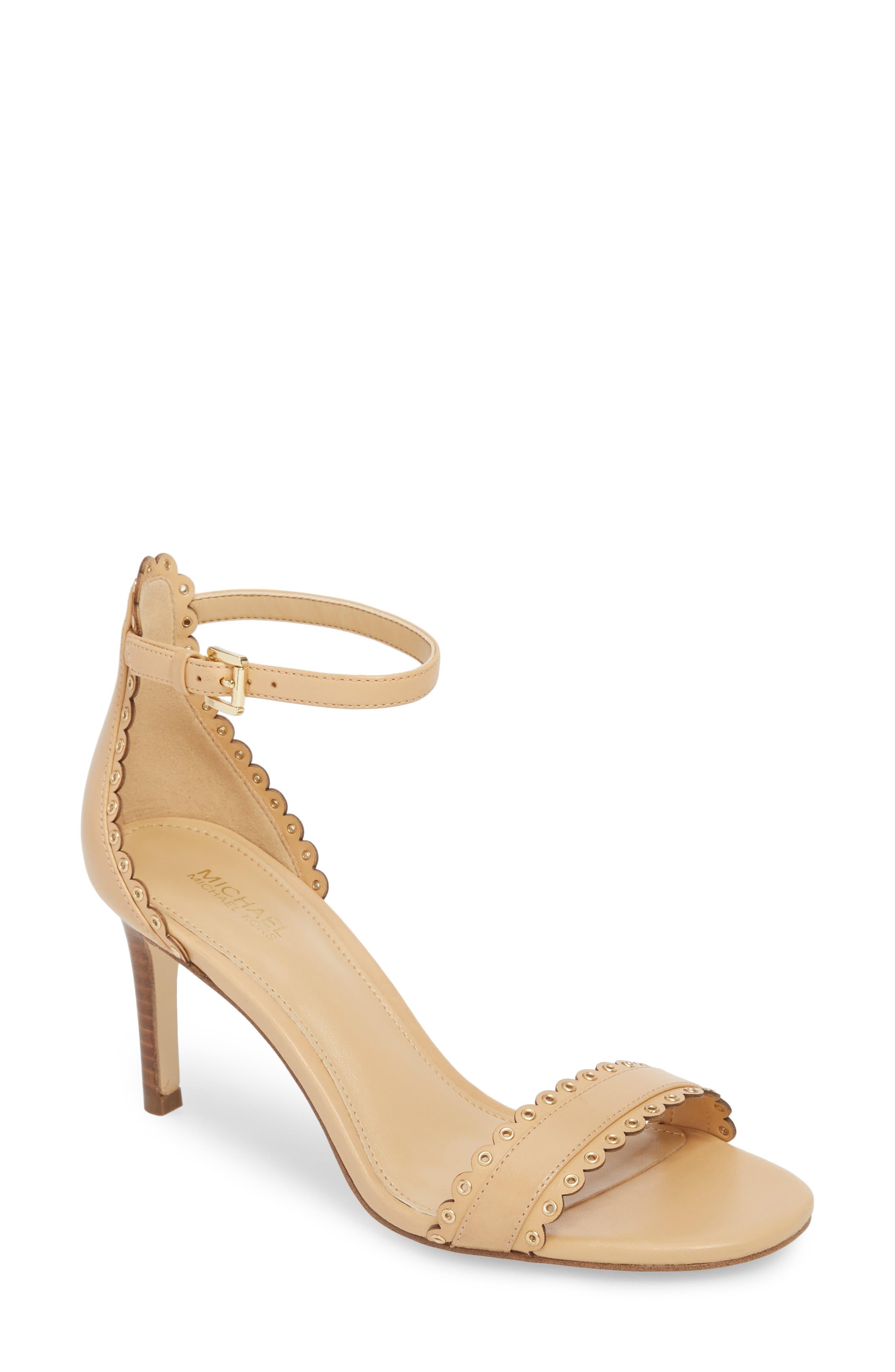 Jessie Sandal,                         Main,                         color, Butternut Leather