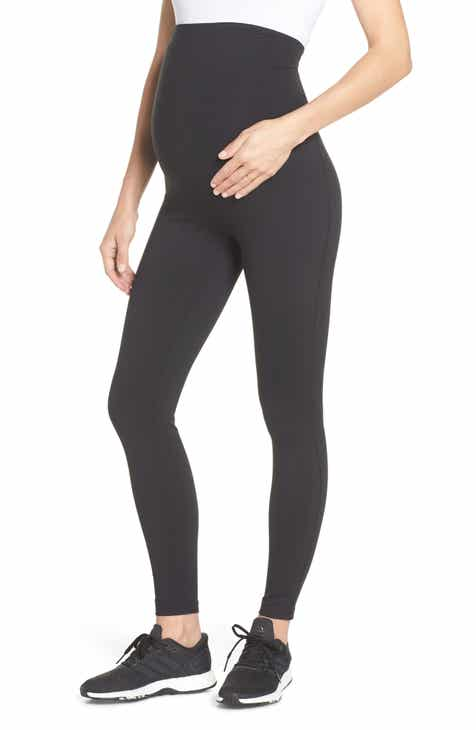 7fc3d21077710 Zella Mamasana Live In Maternity Ankle Leggings