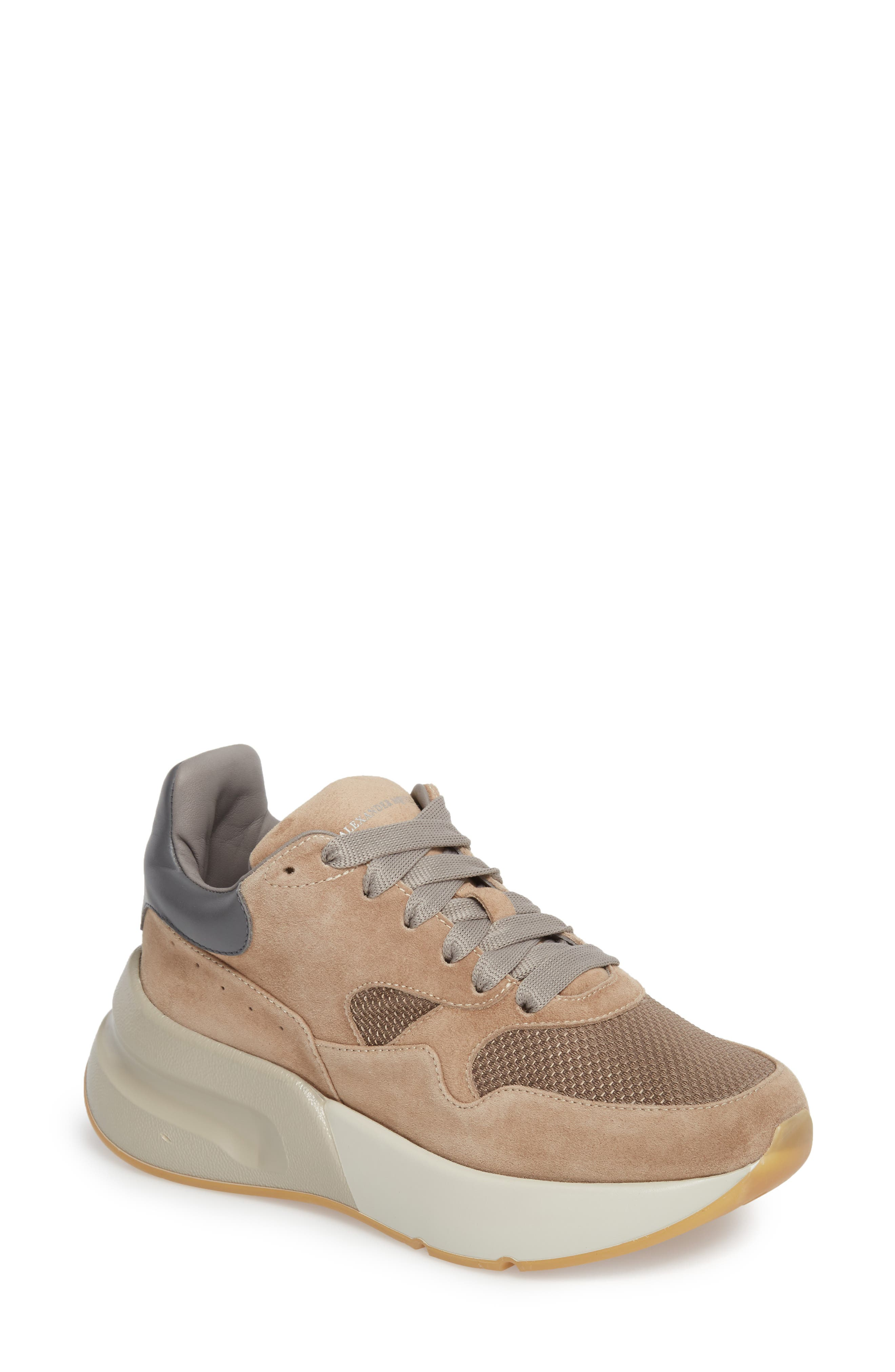 Alexander McQueen Lace-Up Platform Sneaker (Women)