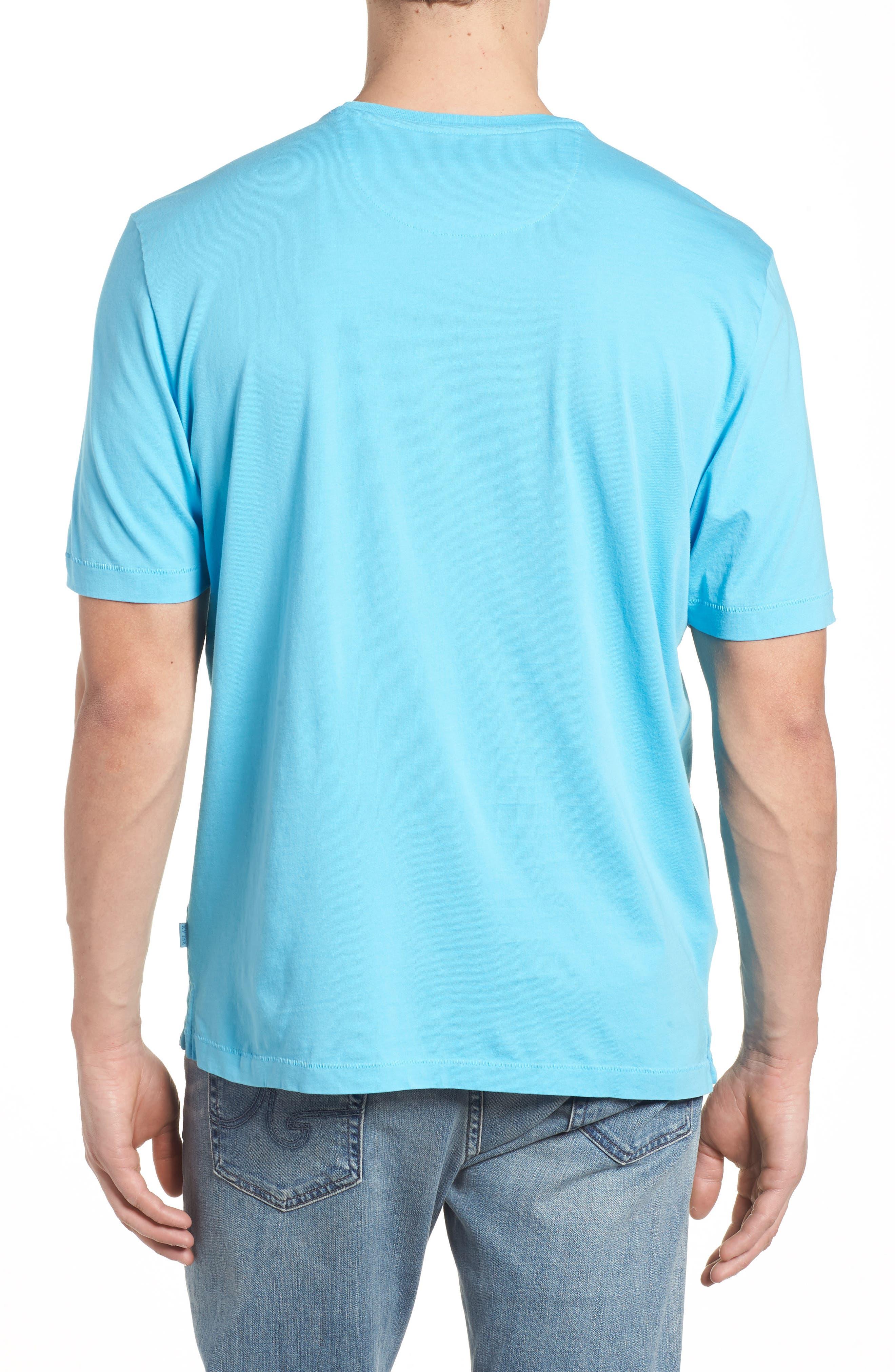 Bali Skyline T-Shirt,                             Alternate thumbnail 2, color,                             Breeze Blue