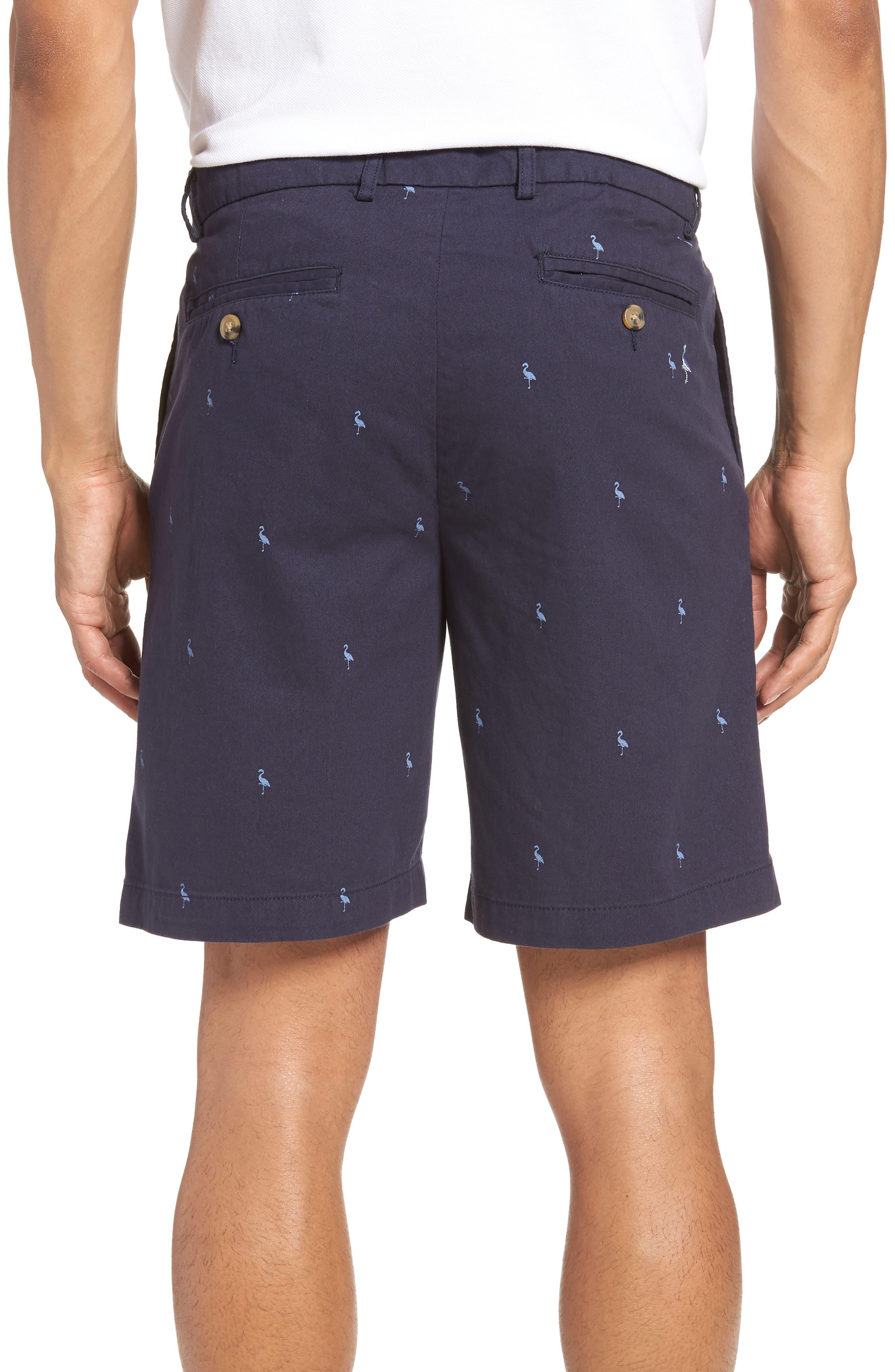 Barlow Bird Regular Fit Chino Shorts,                             Alternate thumbnail 2, color,                             New Navy
