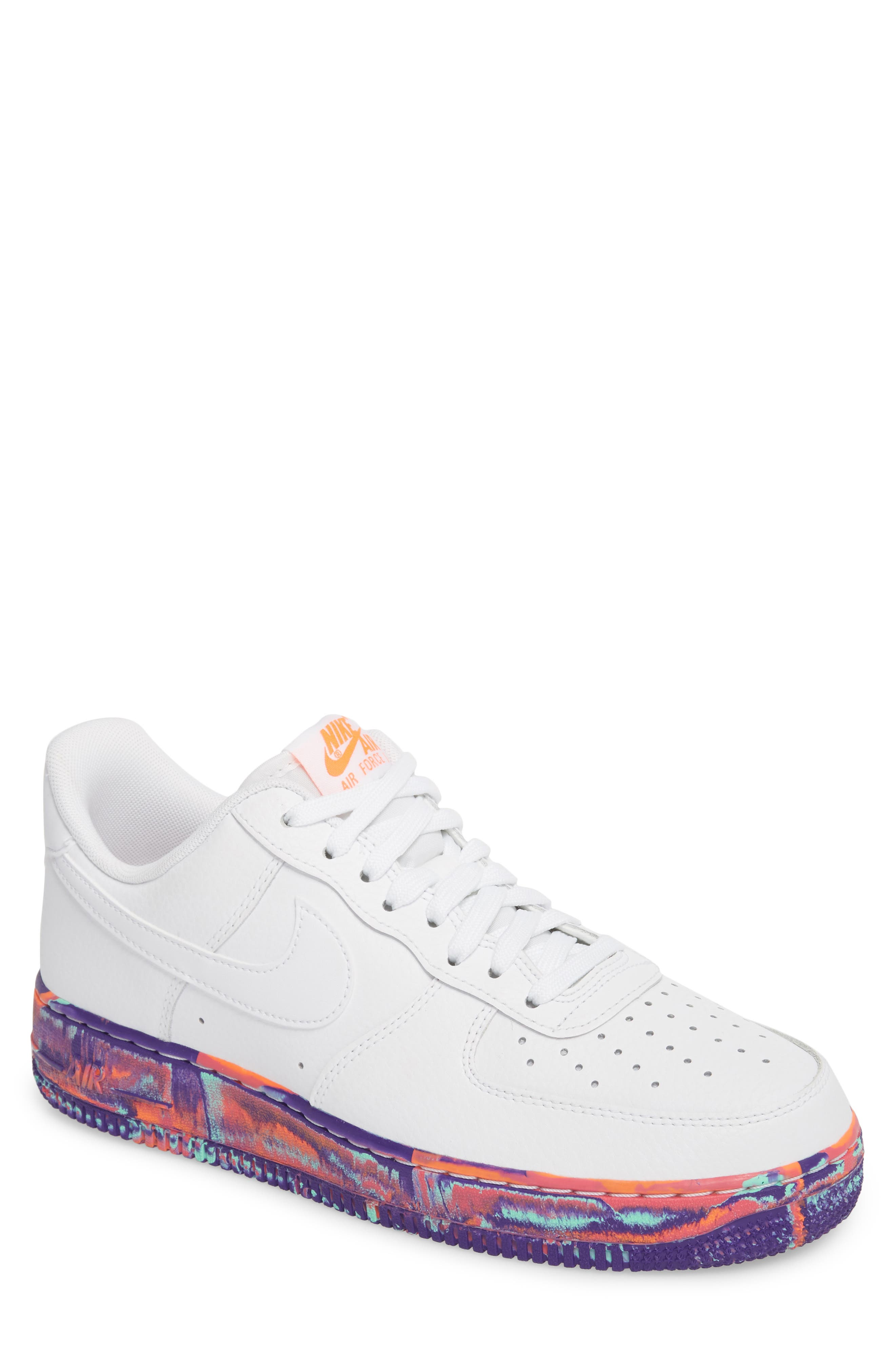 Nike Lv8 Air Force 1 '07 Lv8 Nike Leather zapatilla Hombres Nordstrom b23847
