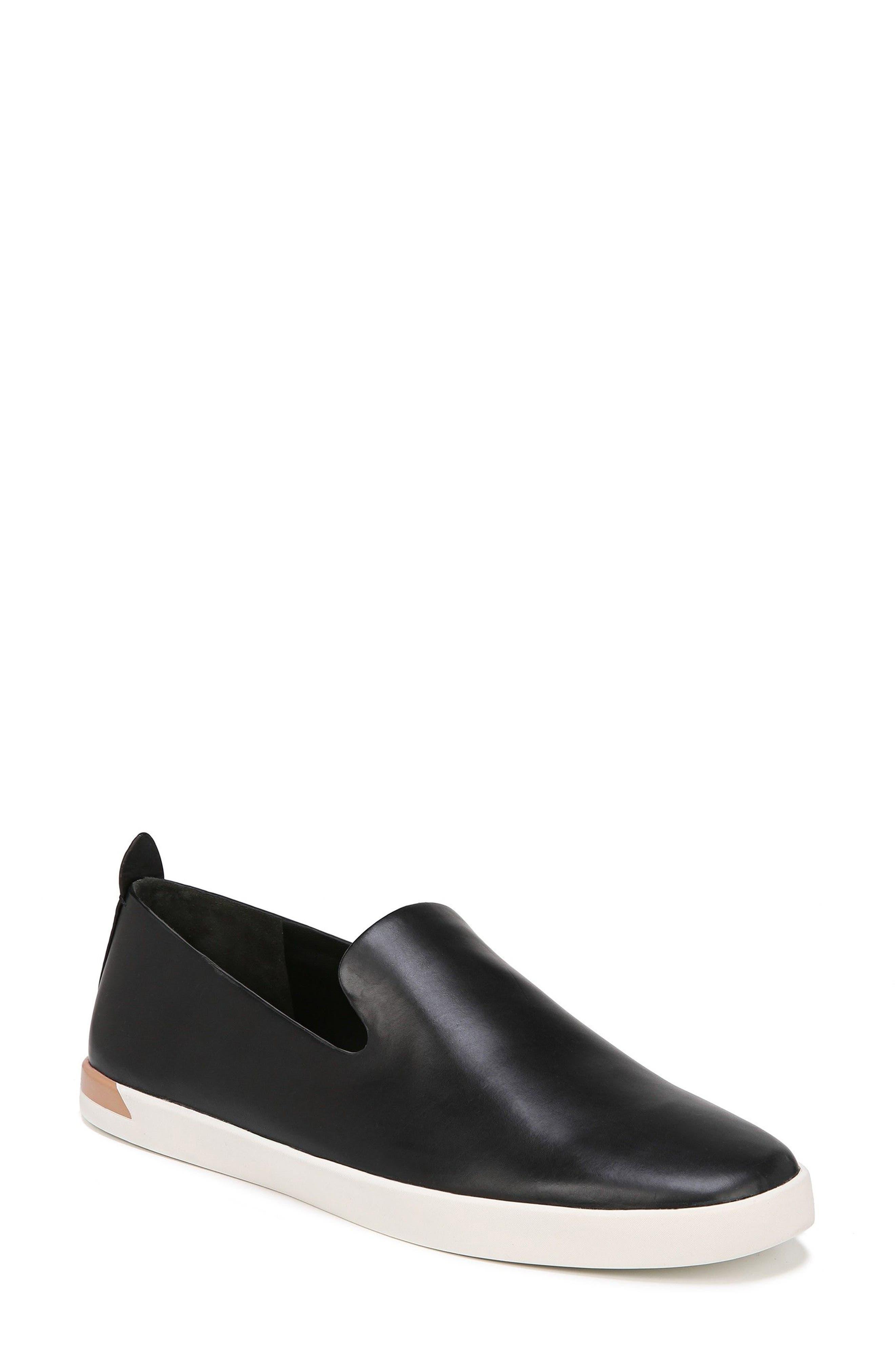Vero Sneaker,                         Main,                         color, Black Leather
