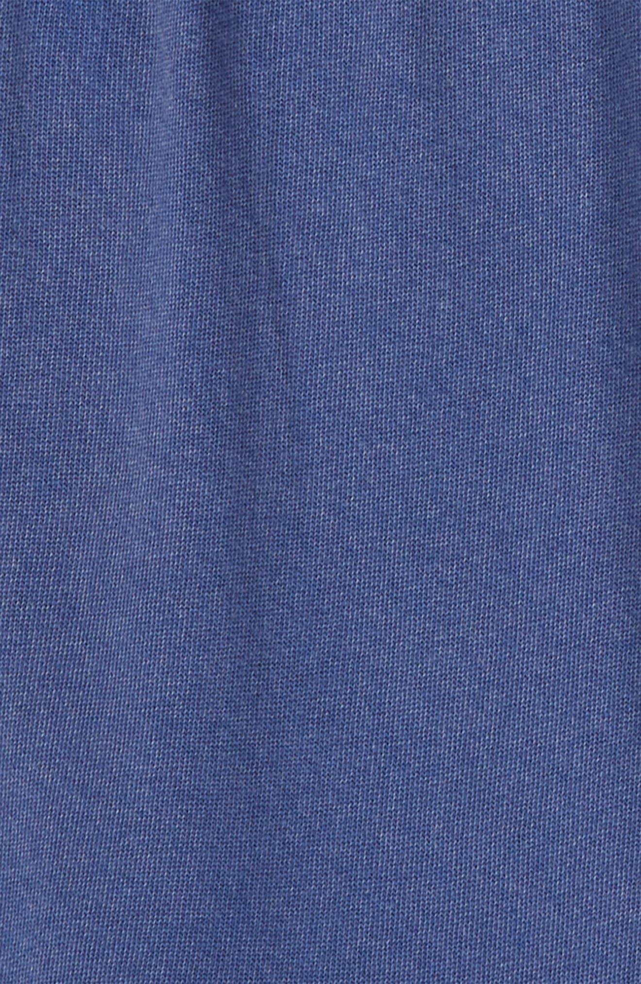 Knit Shorts,                             Alternate thumbnail 2, color,                             Blue Sodalite Wash