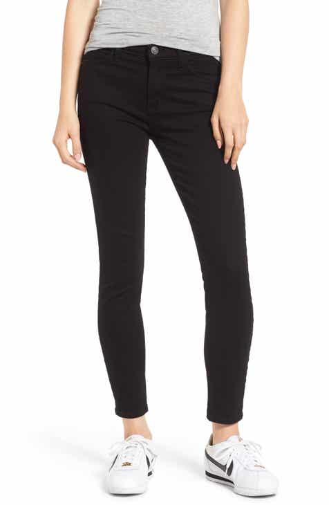 Current/Elliott The Stiletto Ankle Skinny Jeans (Clean Stretch Black) by CURRENT/ELLIOTT