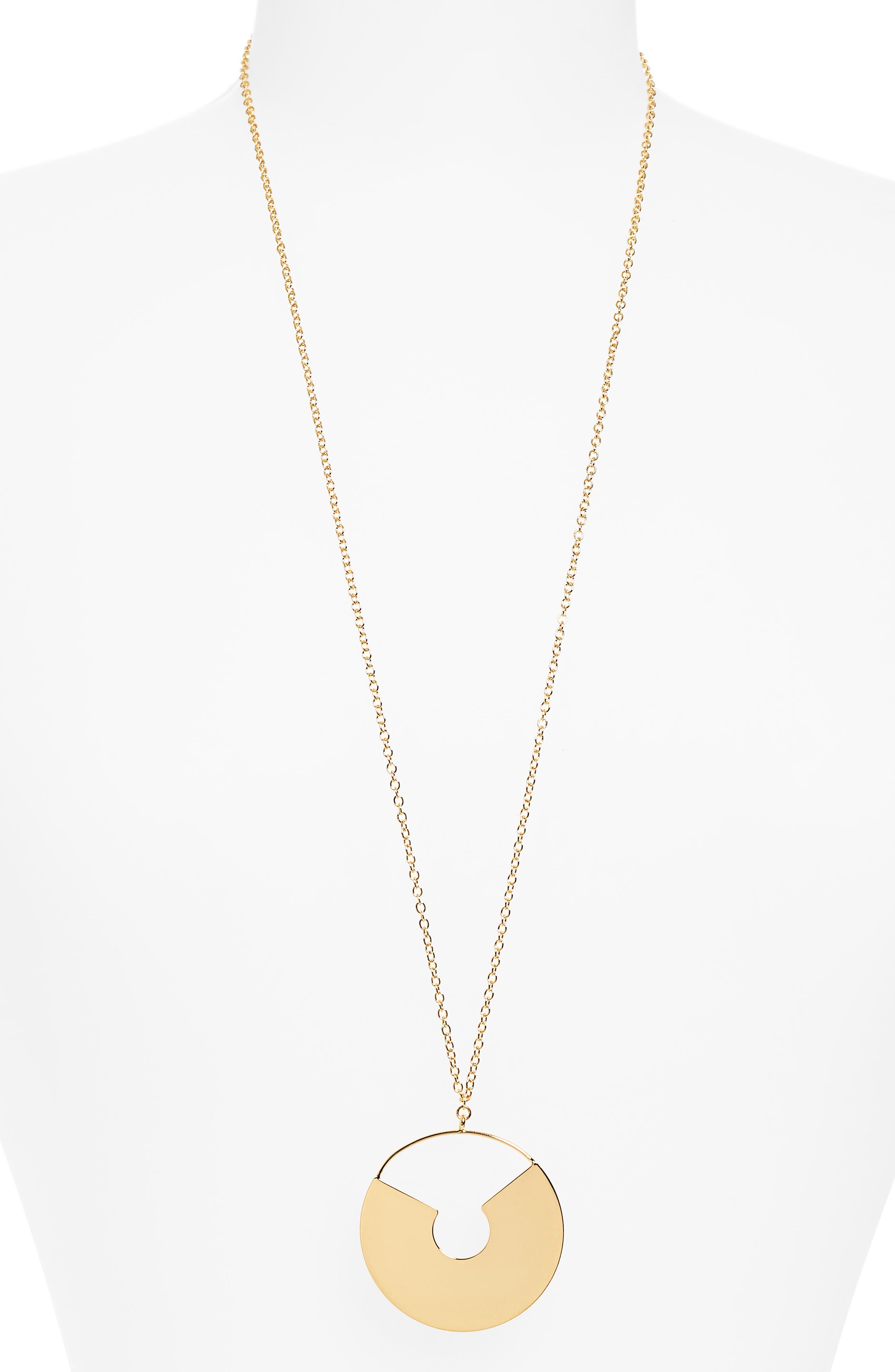 Shukti Necklace,                         Main,                         color, Gold