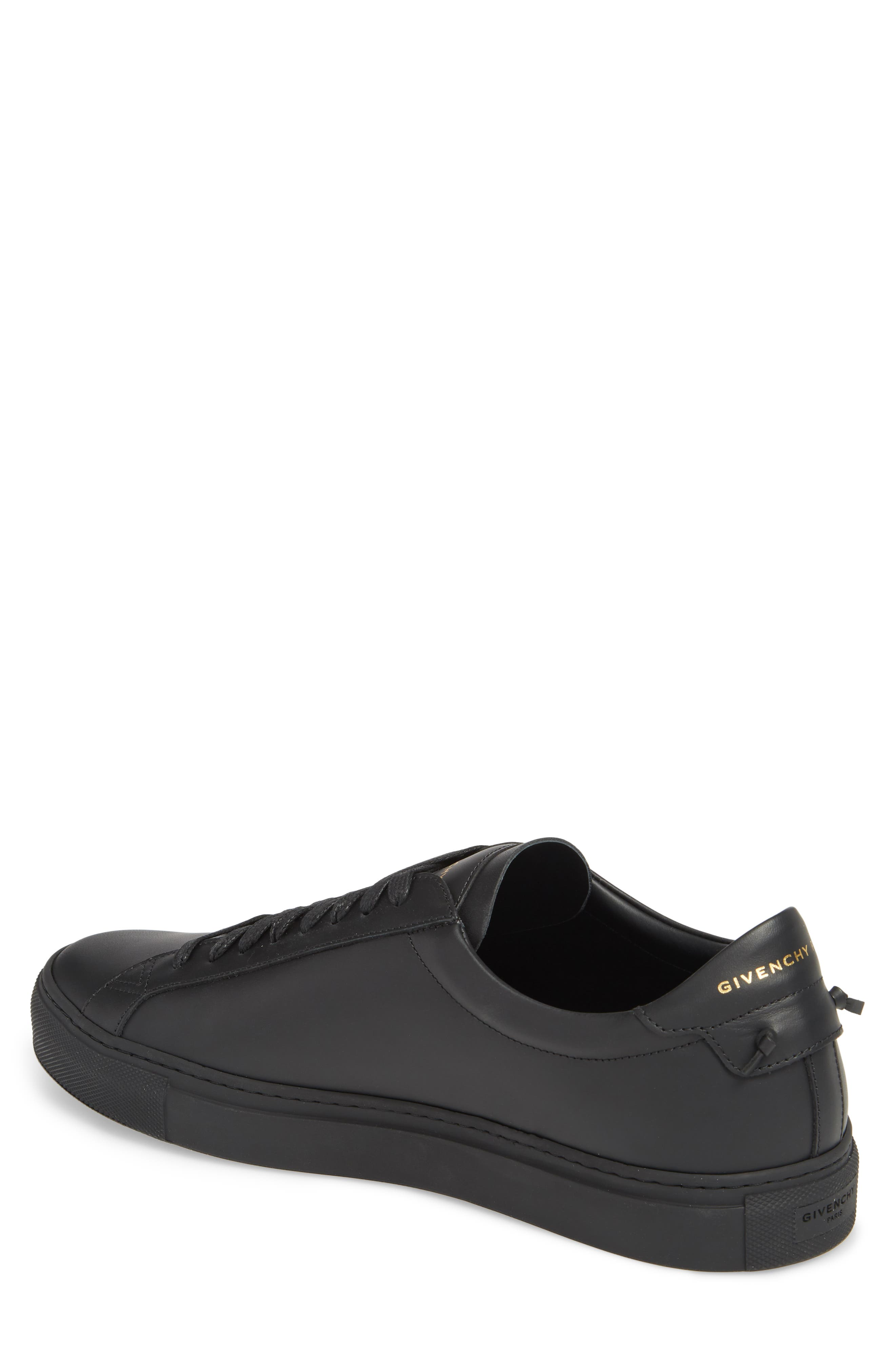 'Urban Knots Lo' Sneaker,                             Alternate thumbnail 2, color,                             Black