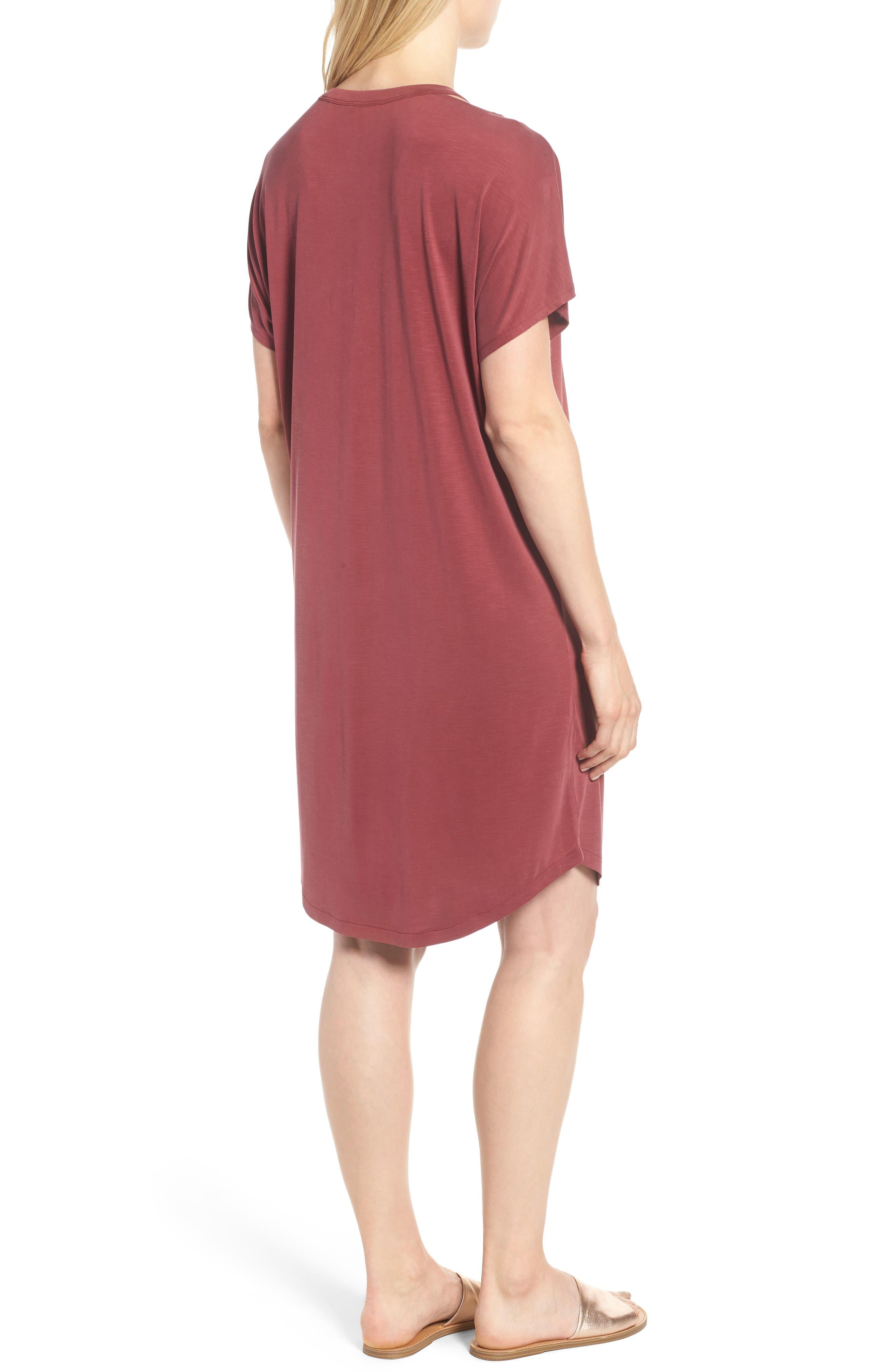 Open Road Dress,                             Alternate thumbnail 2, color,                             Washed Raisin