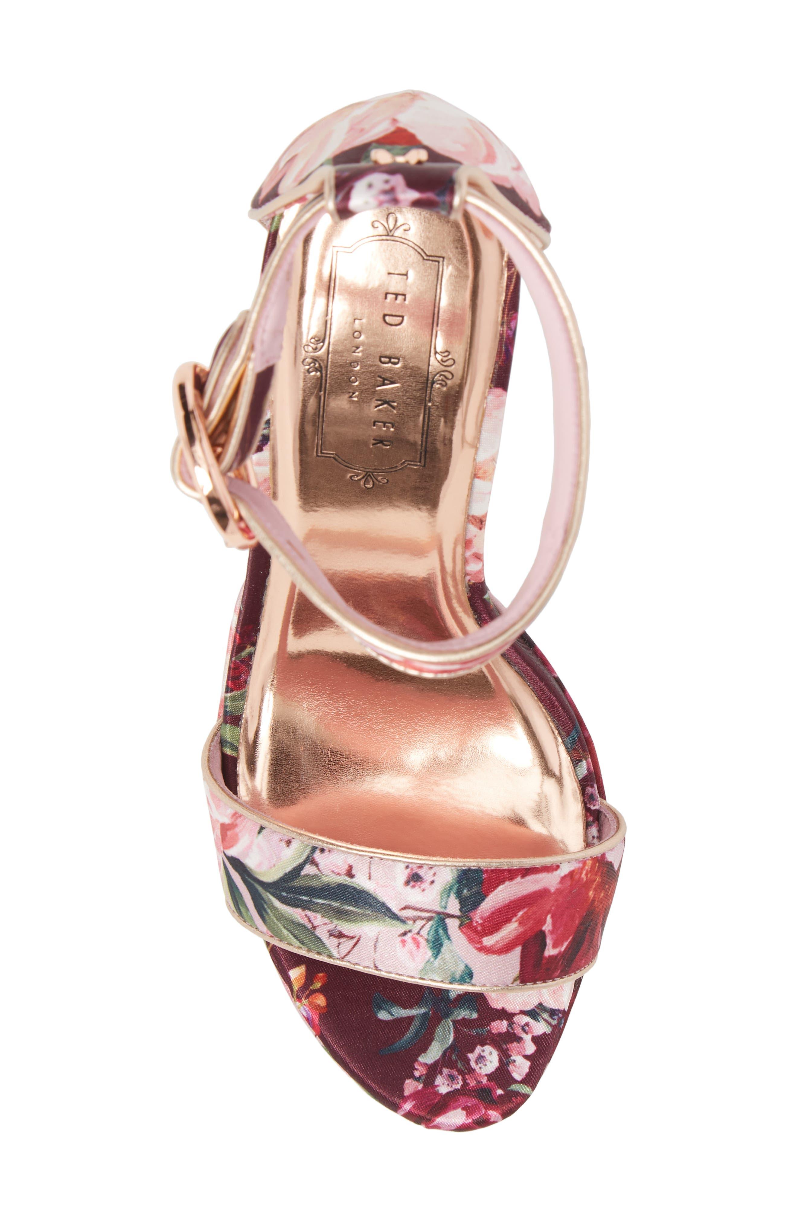 Jewll Ankle Strap Sandal,                             Alternate thumbnail 5, color,                             Serenity Satin