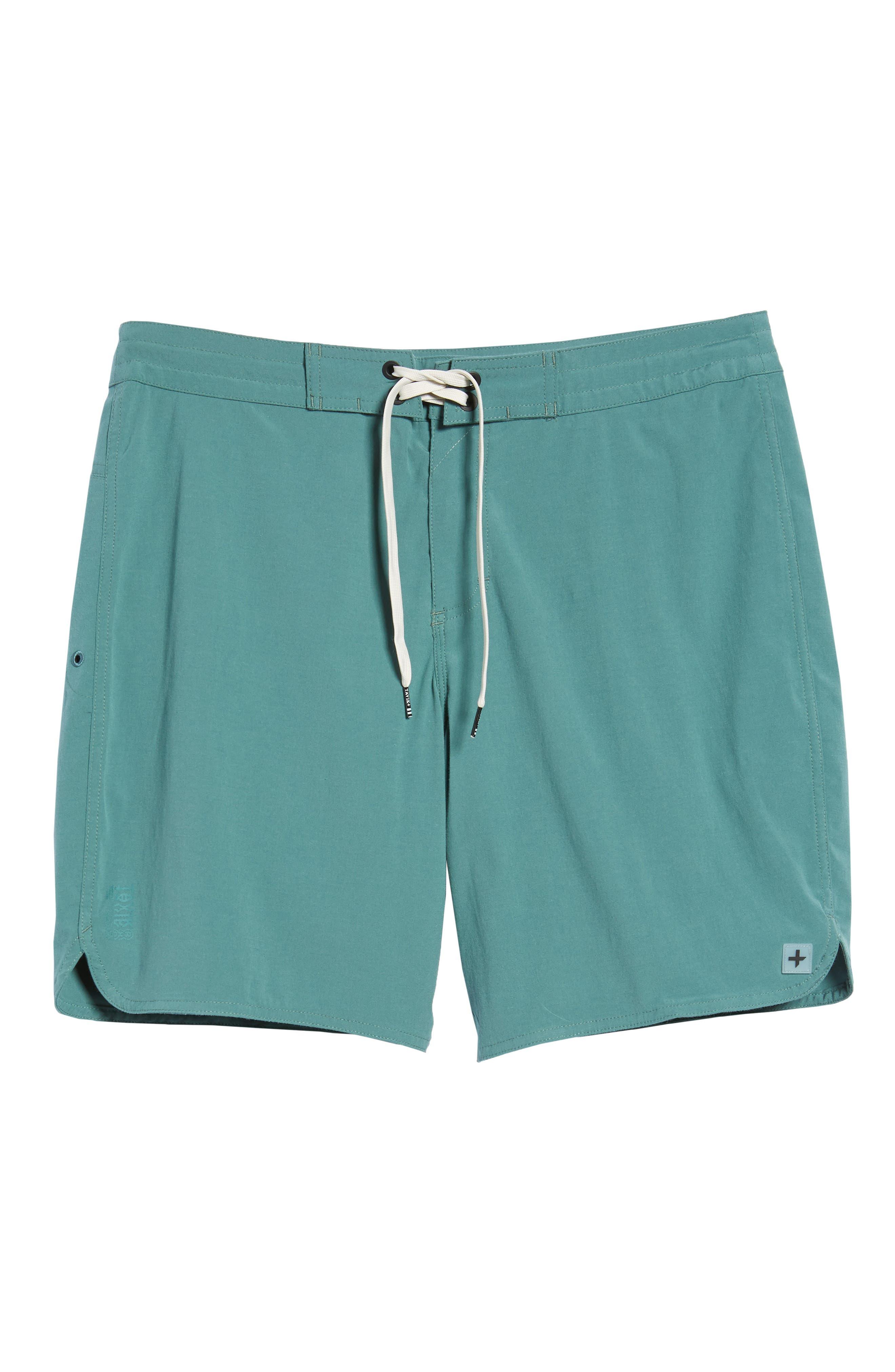 Avalon Board Shorts,                             Alternate thumbnail 6, color,                             Palm Green
