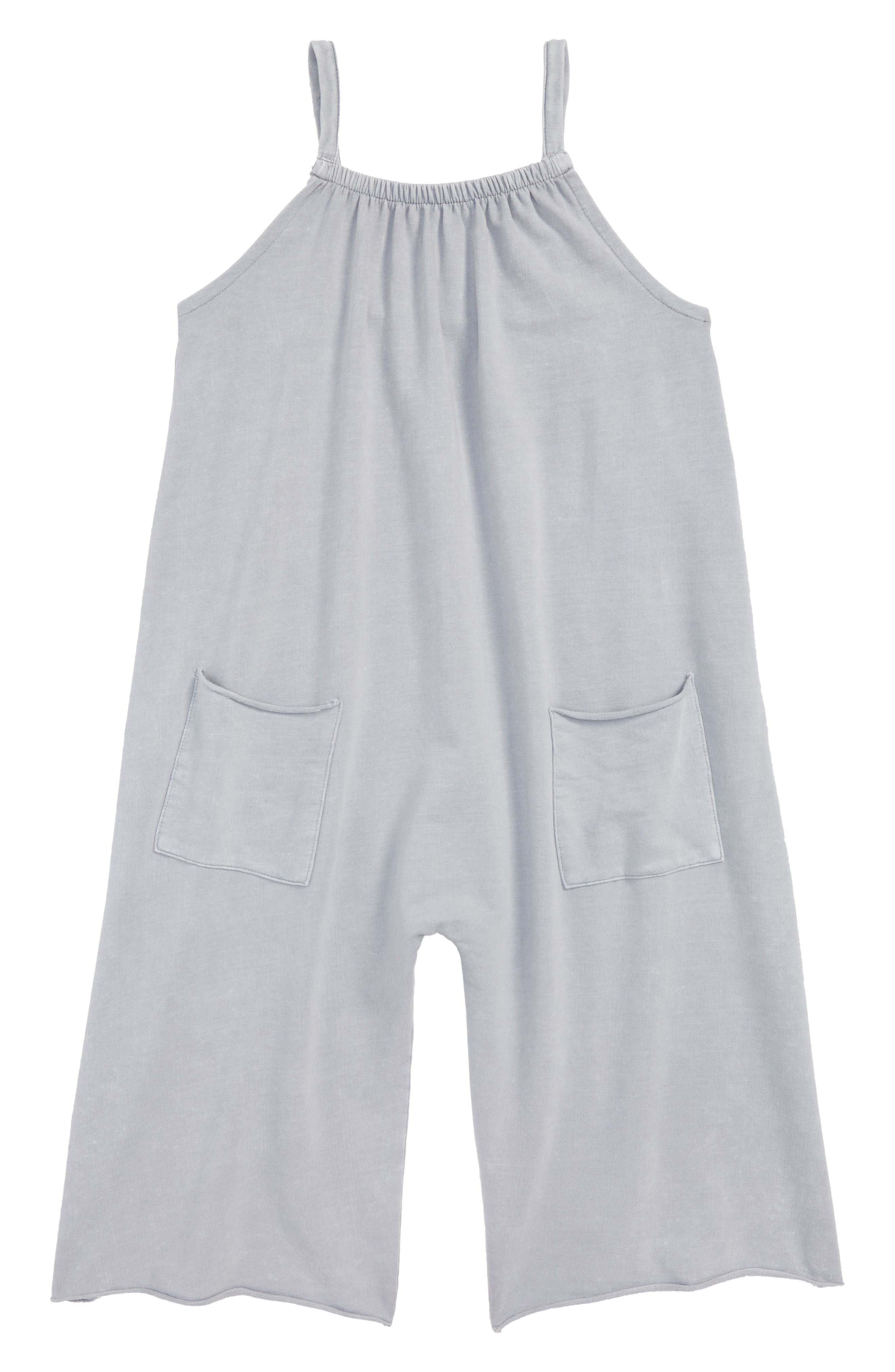 Stem Gaucho Jumpsuit (Toddler Girls, Little Girls & Big Girls)